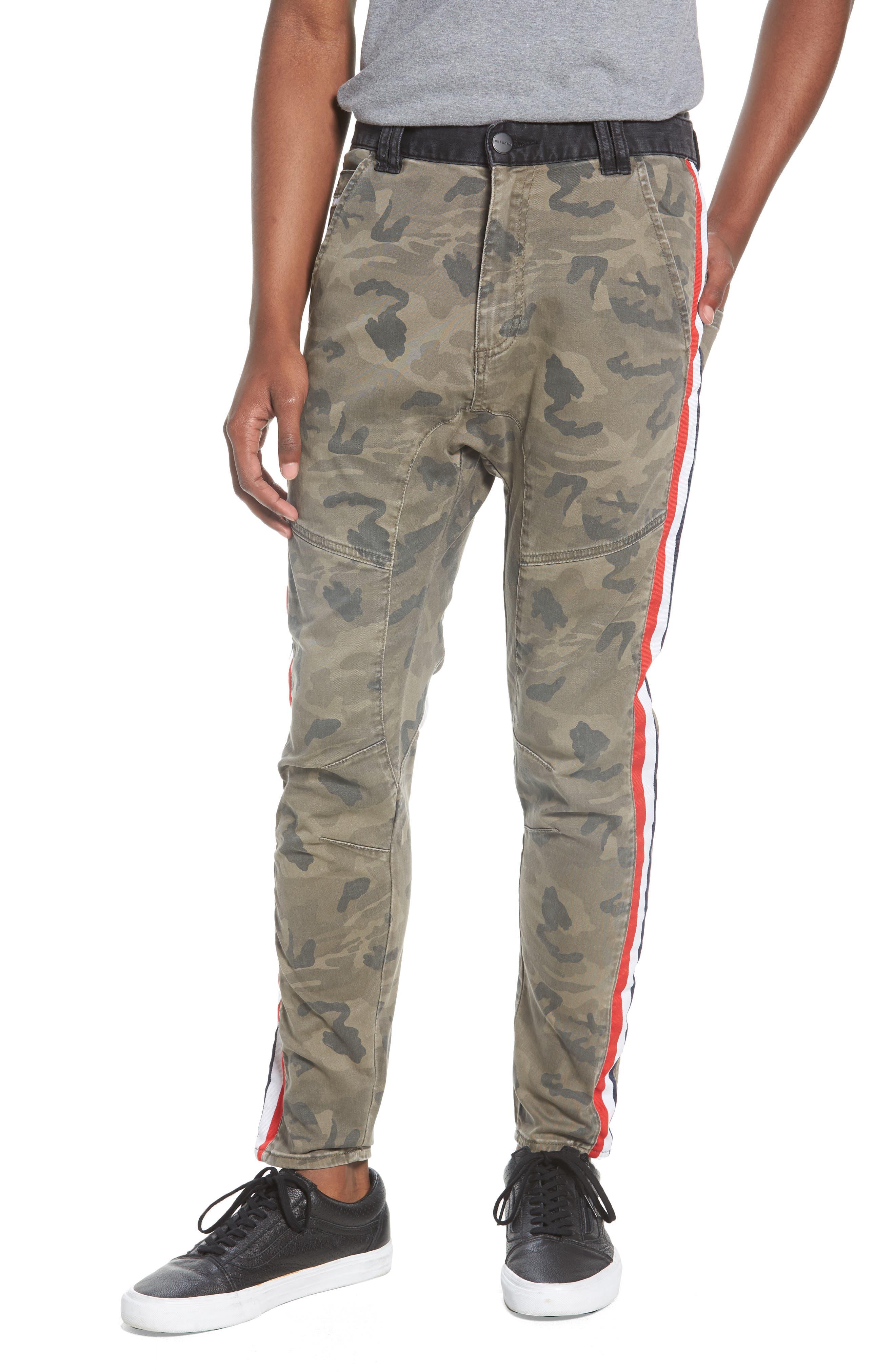Sergeant Slim Fit Pants,                         Main,                         color, Airwolf Camo