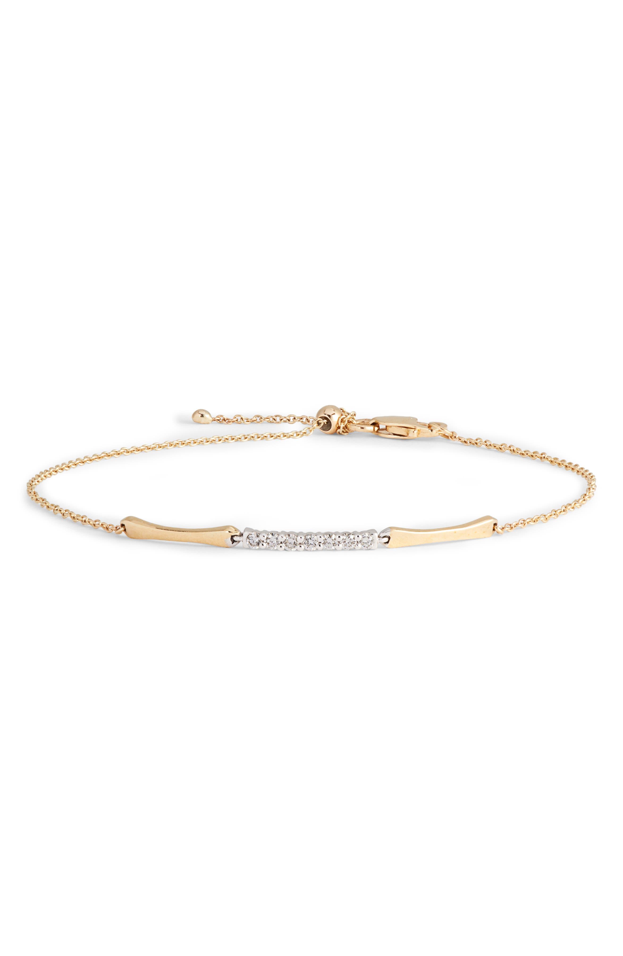 Bony Levy 3-Station Bracelet with Diamonds (Nordstrom Exclusive)