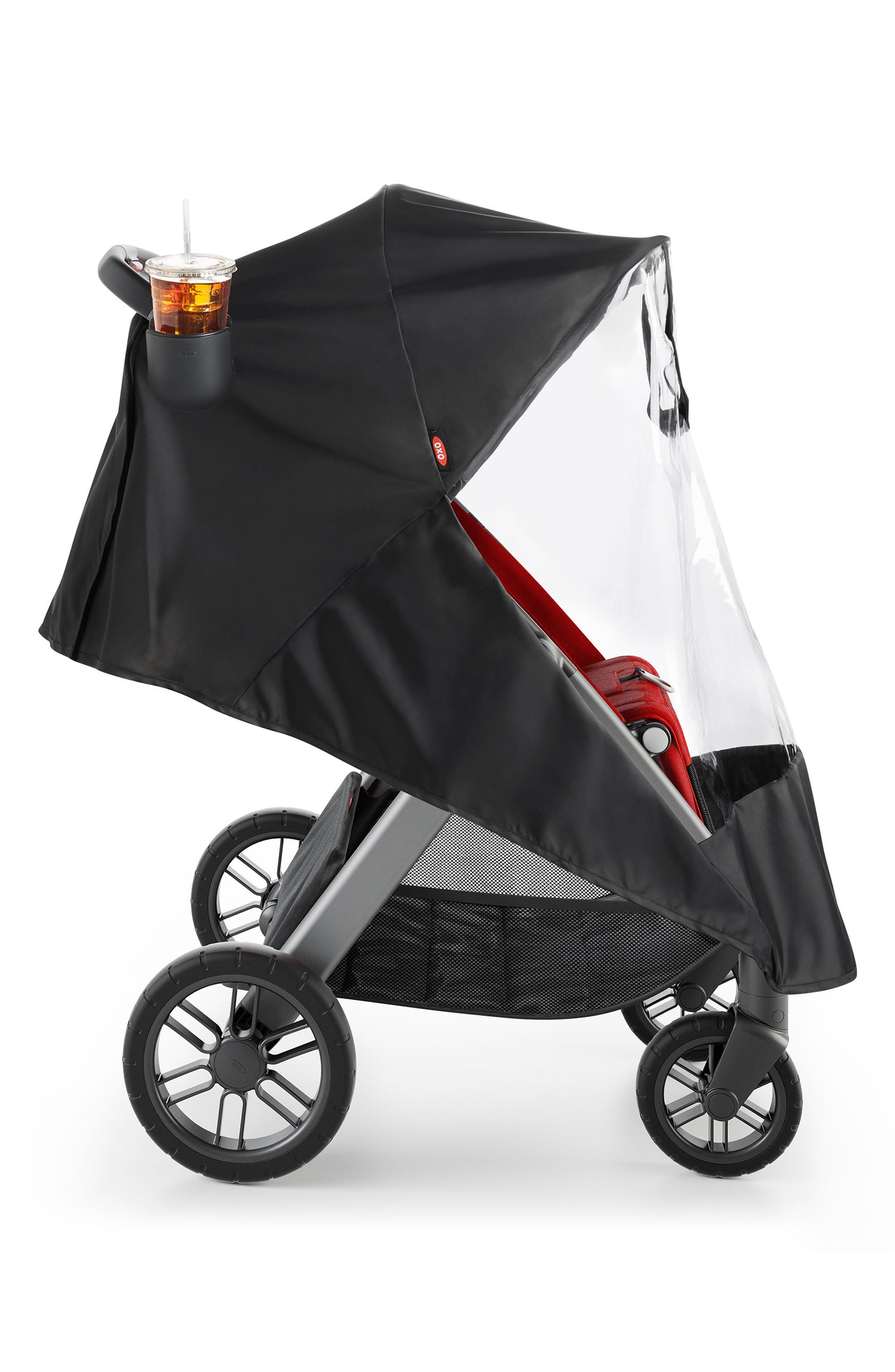 Cubby+ Stroller,                             Alternate thumbnail 4, color,                             Red