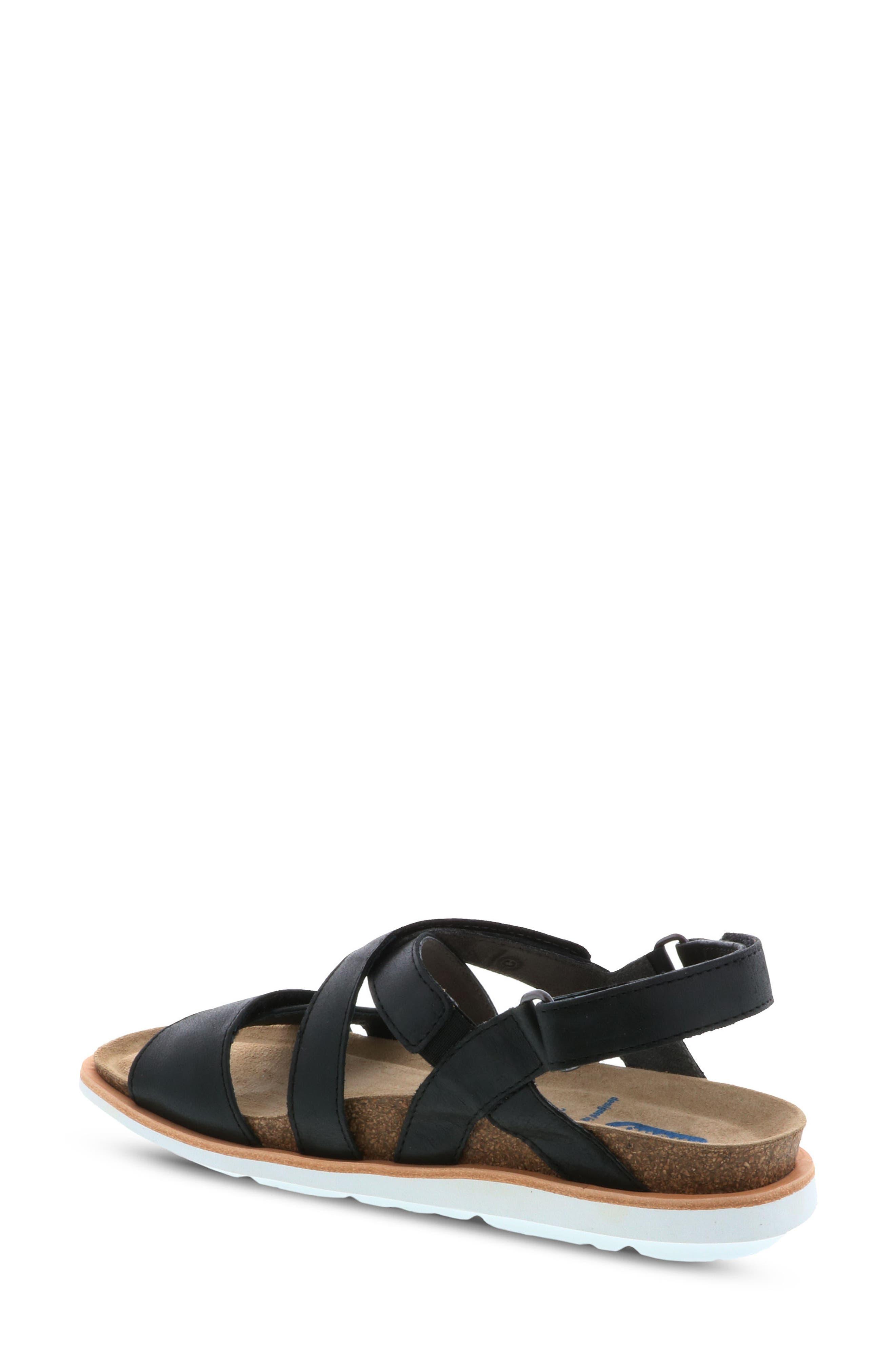 Sunstone Sandal,                             Alternate thumbnail 2, color,                             Black Summer