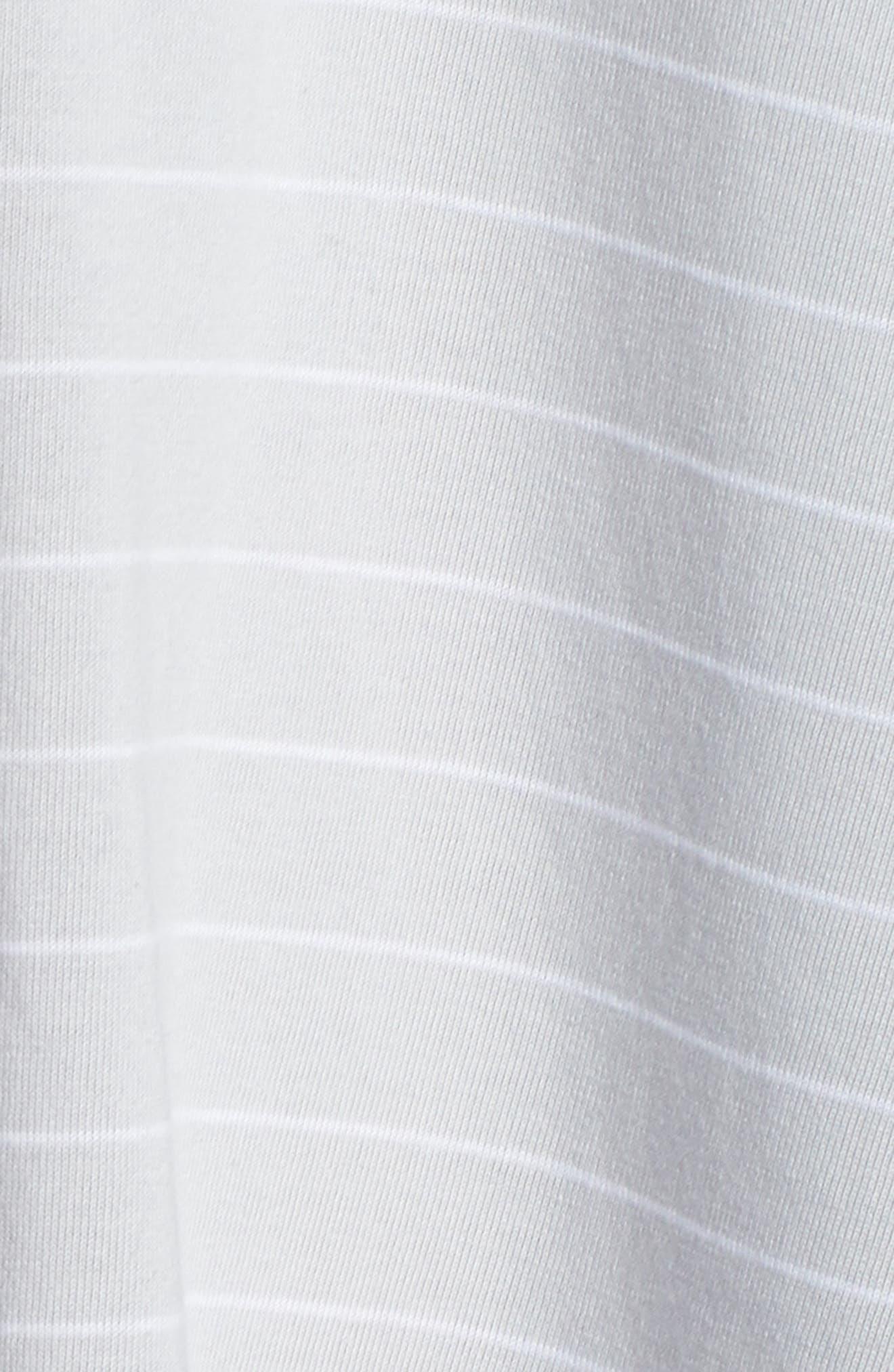 Swing Chemise,                             Alternate thumbnail 6, color,                             Microchip Gray Stripe