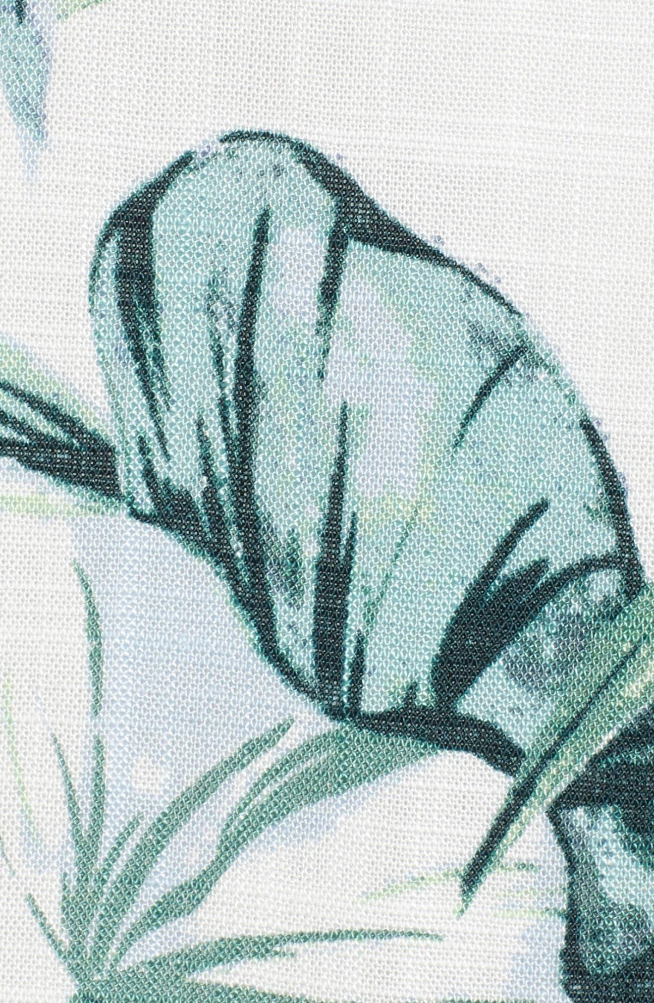 Palm Fringe Skirt,                             Alternate thumbnail 6, color,                             Multi