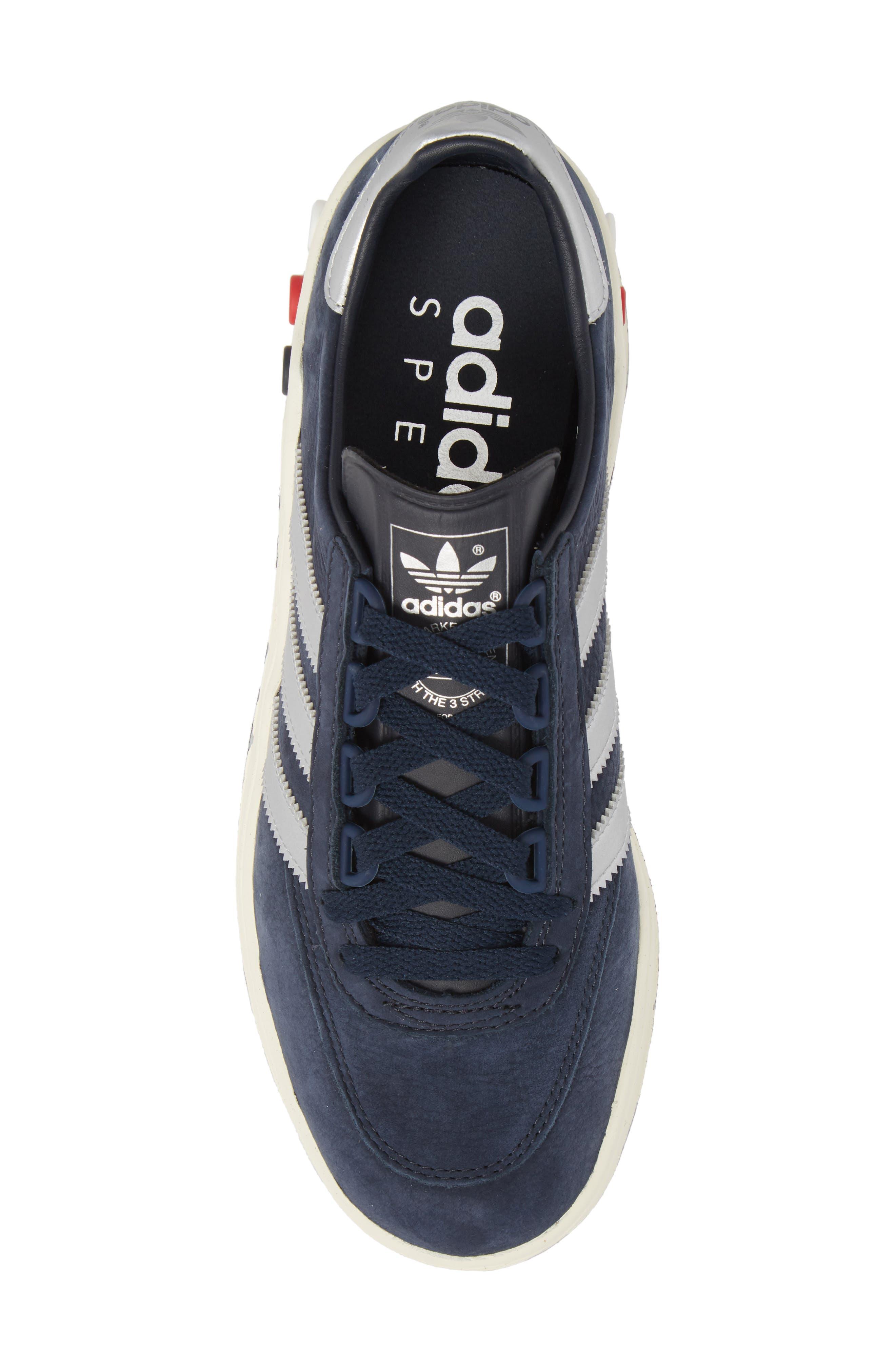 CLMBA SPZL Sneaker,                             Alternate thumbnail 5, color,                             Night Navy/ Silver/ White