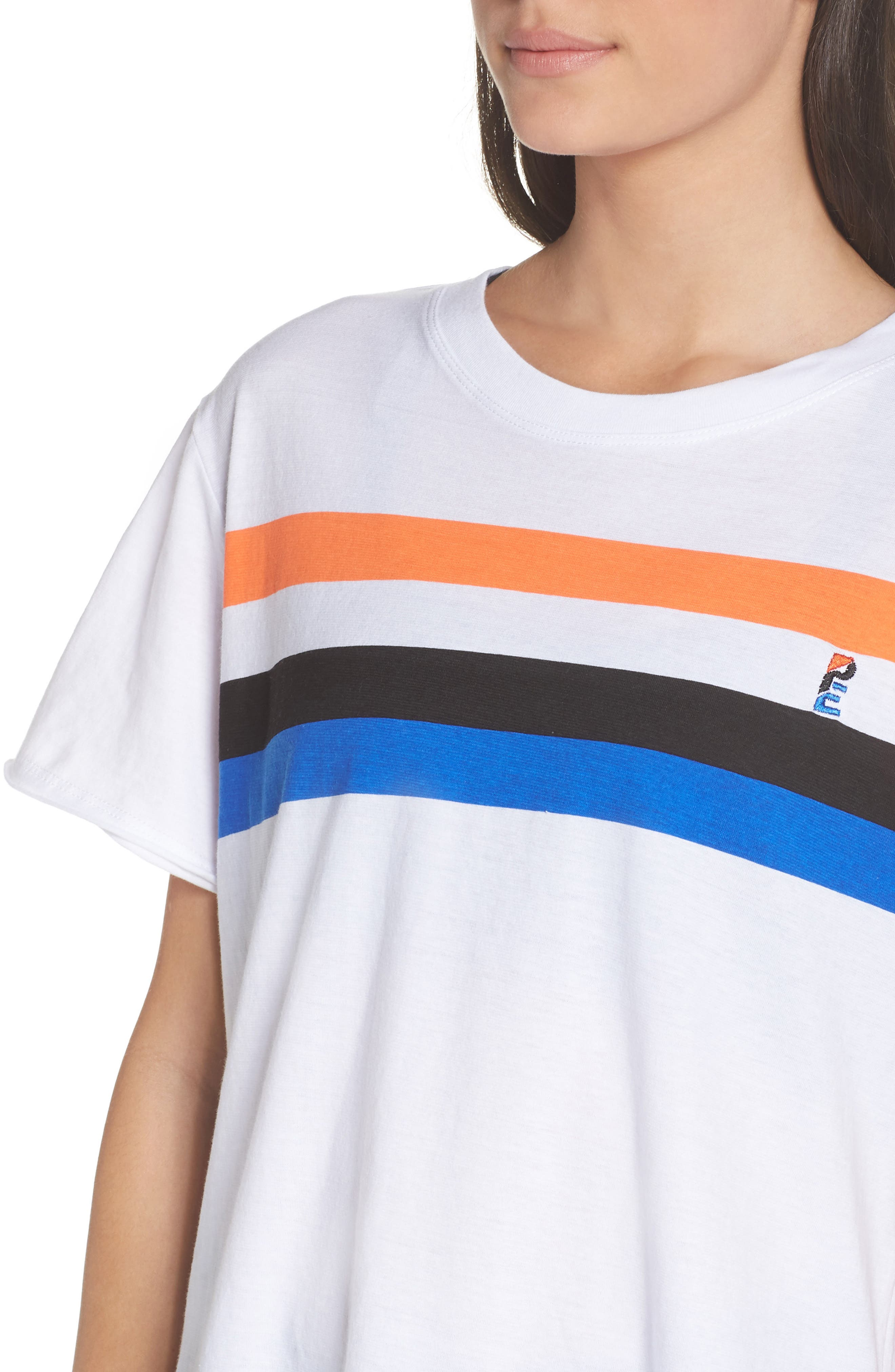 Middle Distance Tee,                             Alternate thumbnail 4, color,                             White