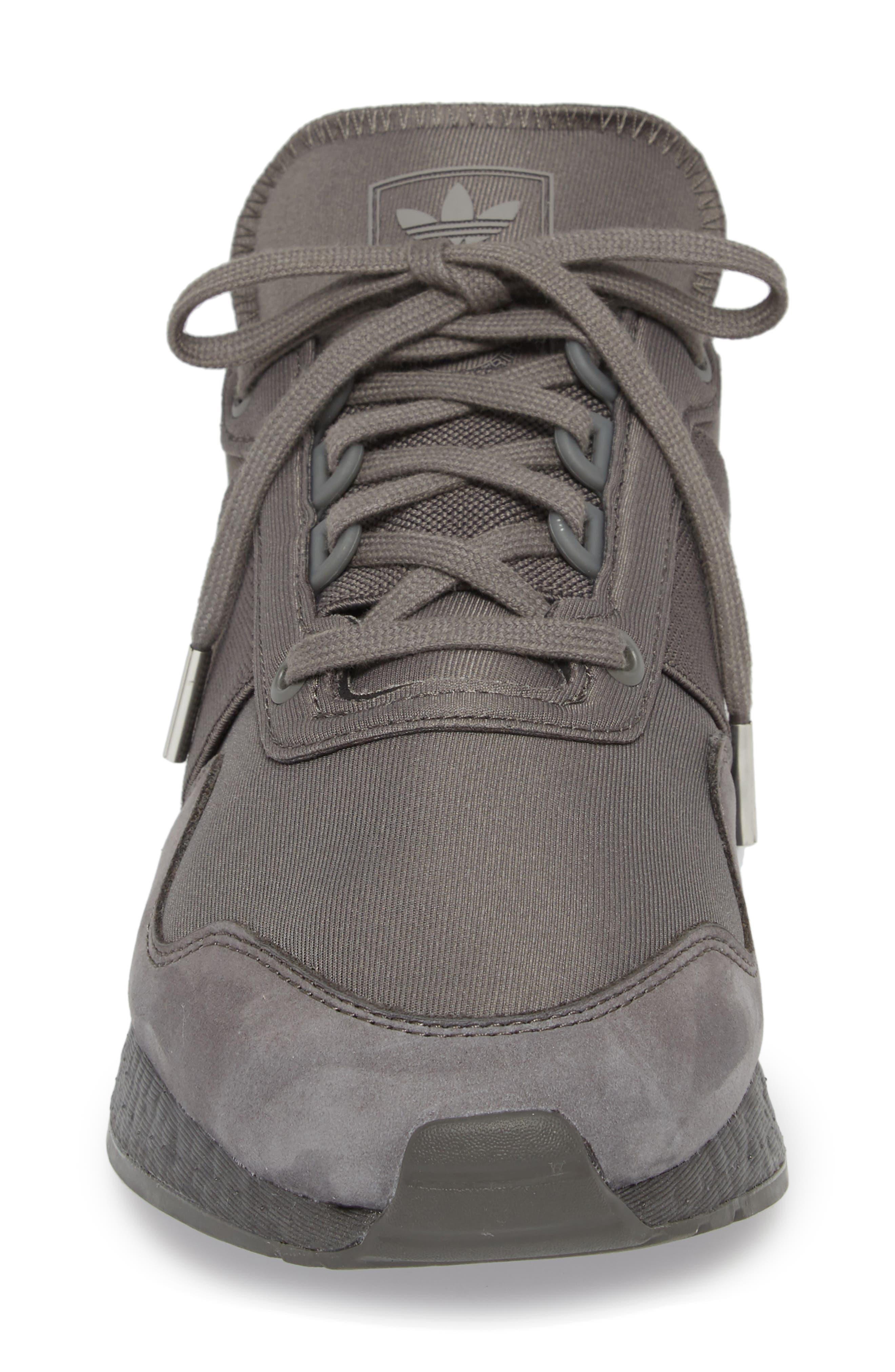 New York Present Arsham Sneaker,                             Alternate thumbnail 4, color,                             Grey