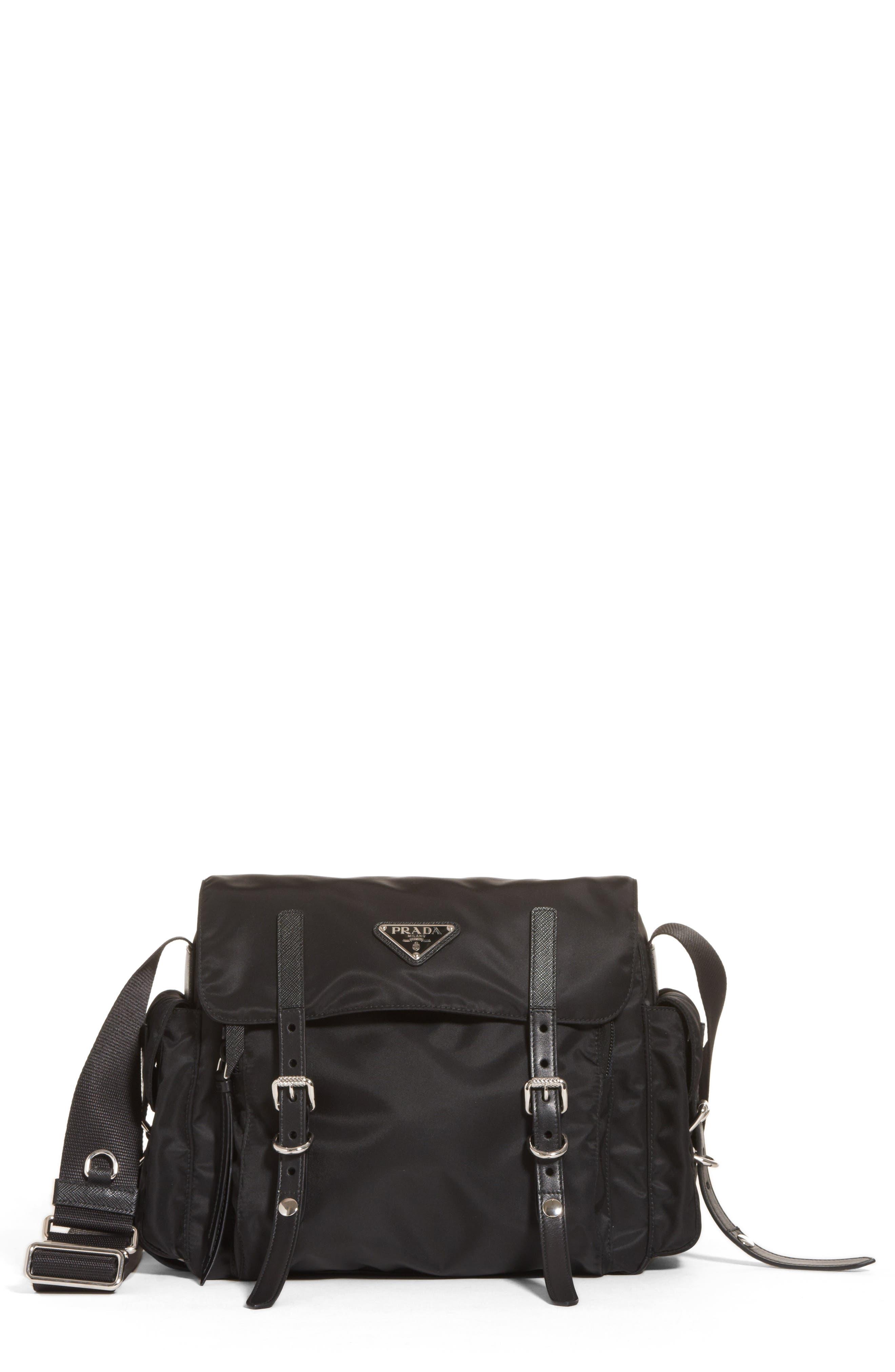 Prada Medium Nylon Messenger Bag