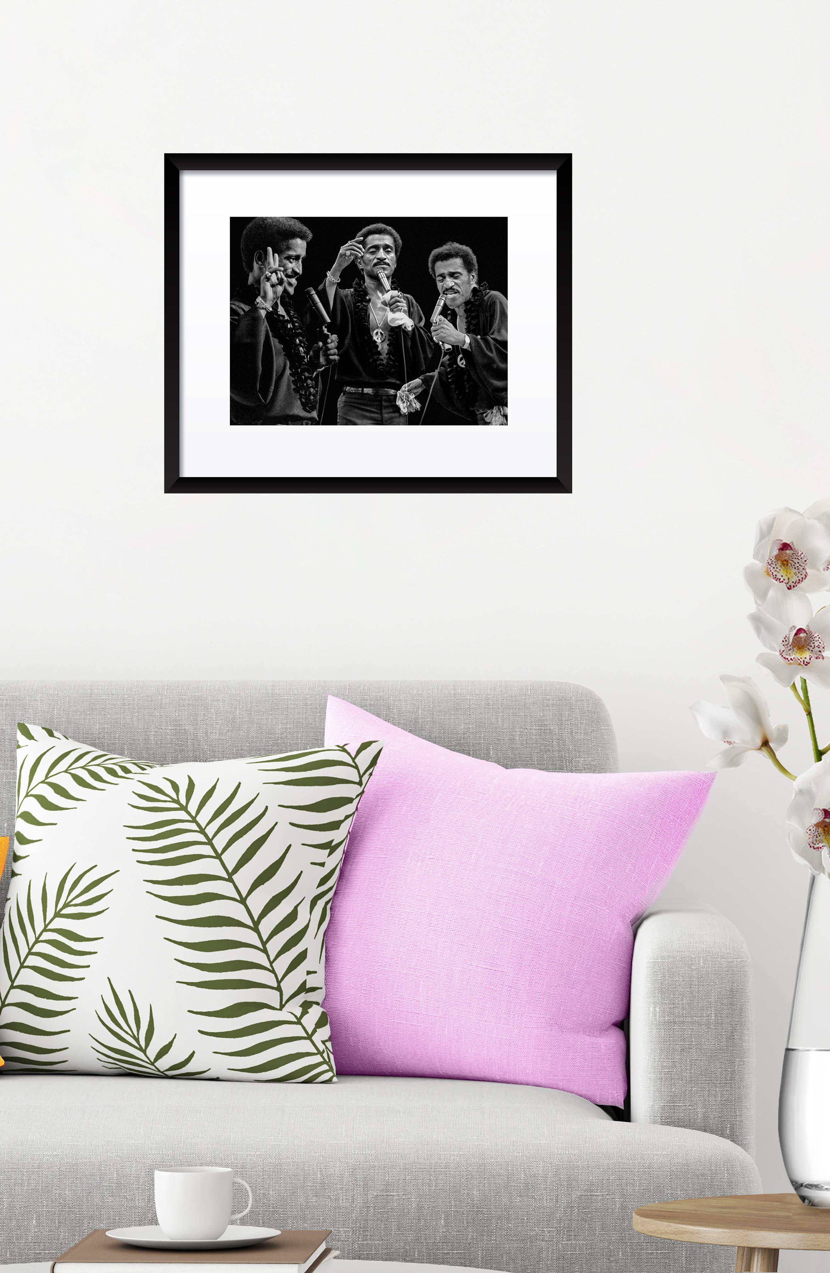 Sammy Davis Jr. Fine Art Print,                             Alternate thumbnail 3, color,                             Black
