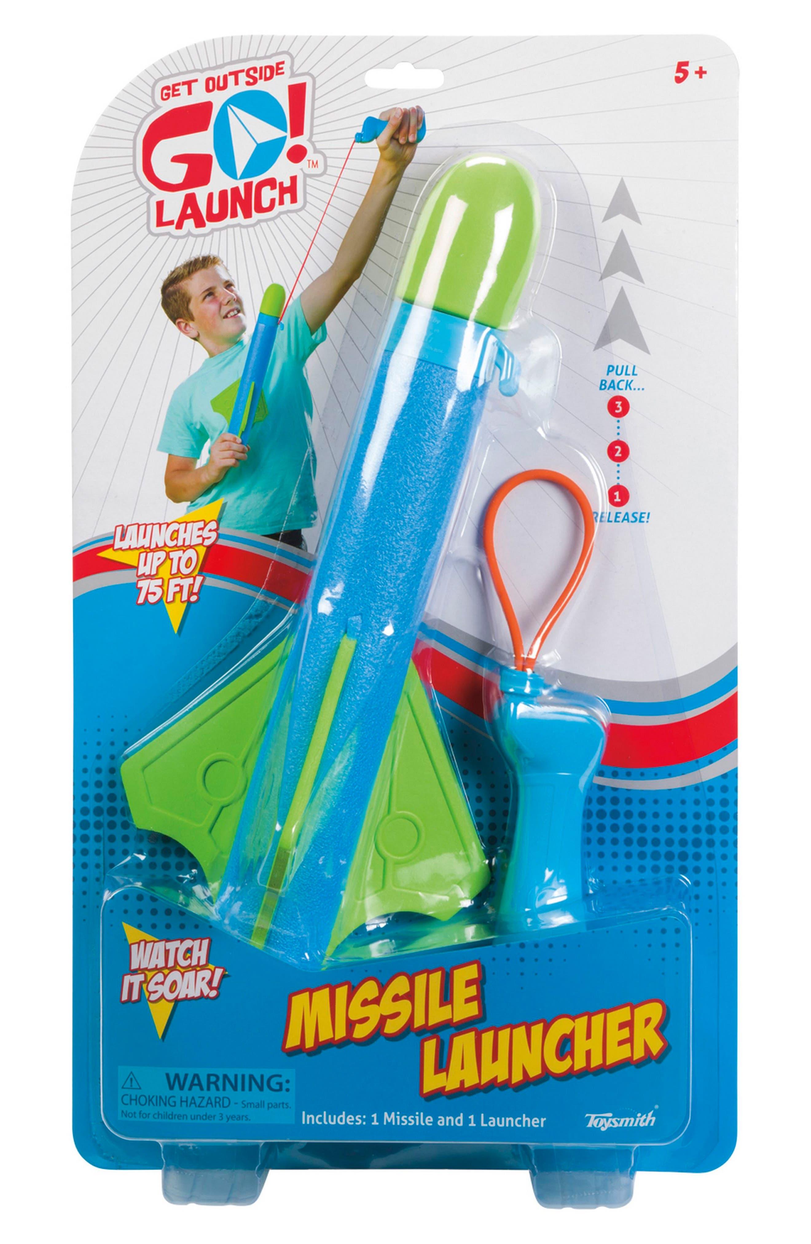 Missile Launch,                         Main,                         color, Blue