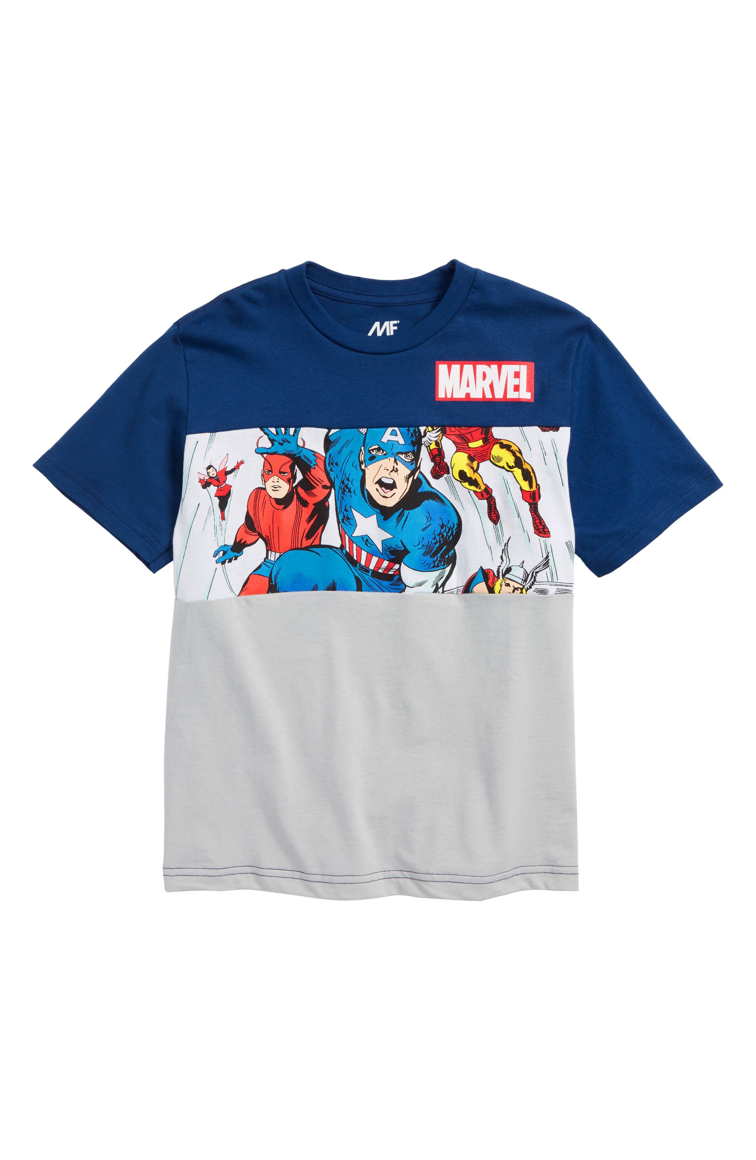 Mighty Fine x Marvel Avengers T-Shirt (Big Boys)
