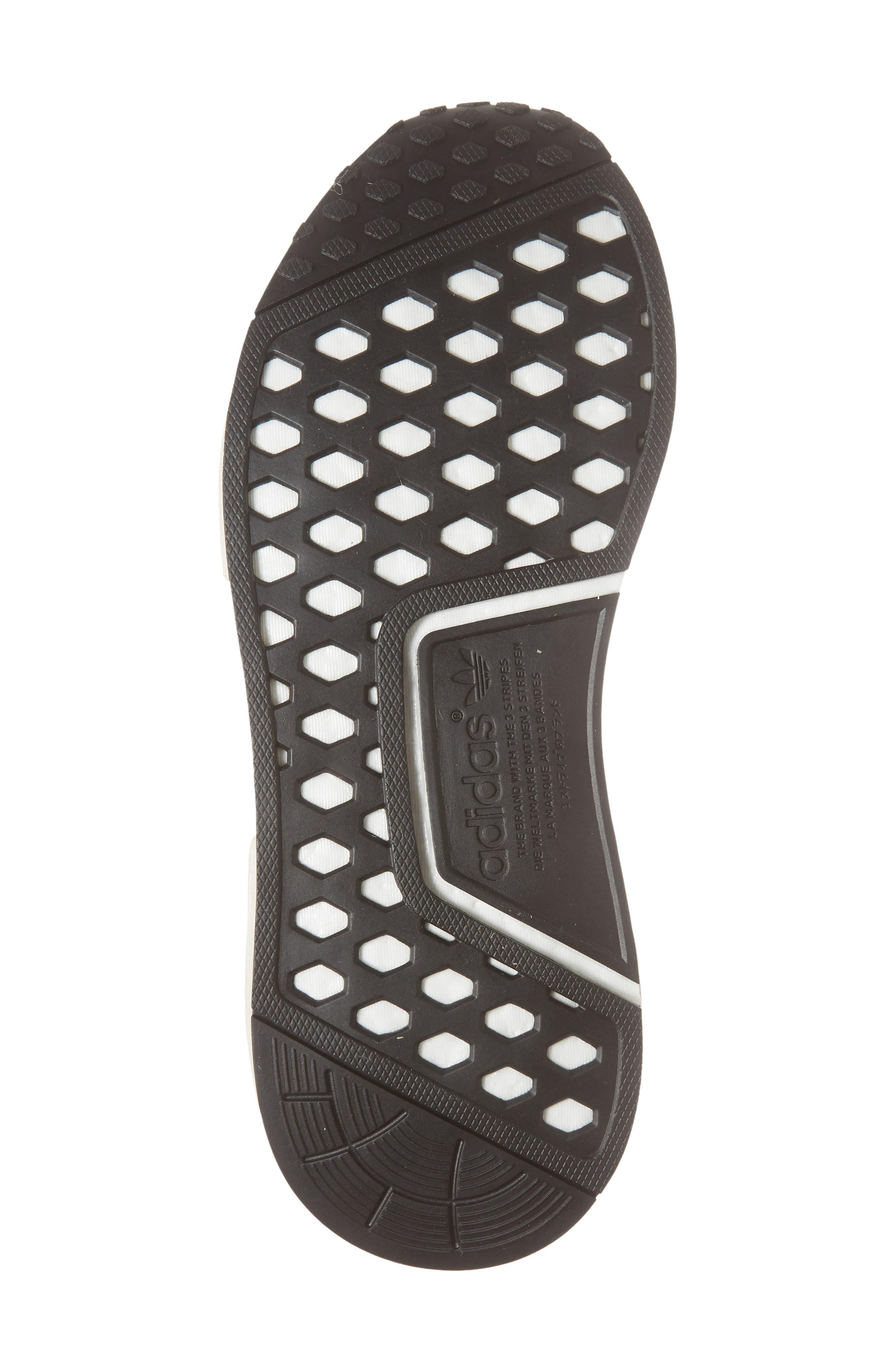 NMD_R1 Sneaker,                             Alternate thumbnail 6, color,                             Raw Gold/ Tech Beige/ Black
