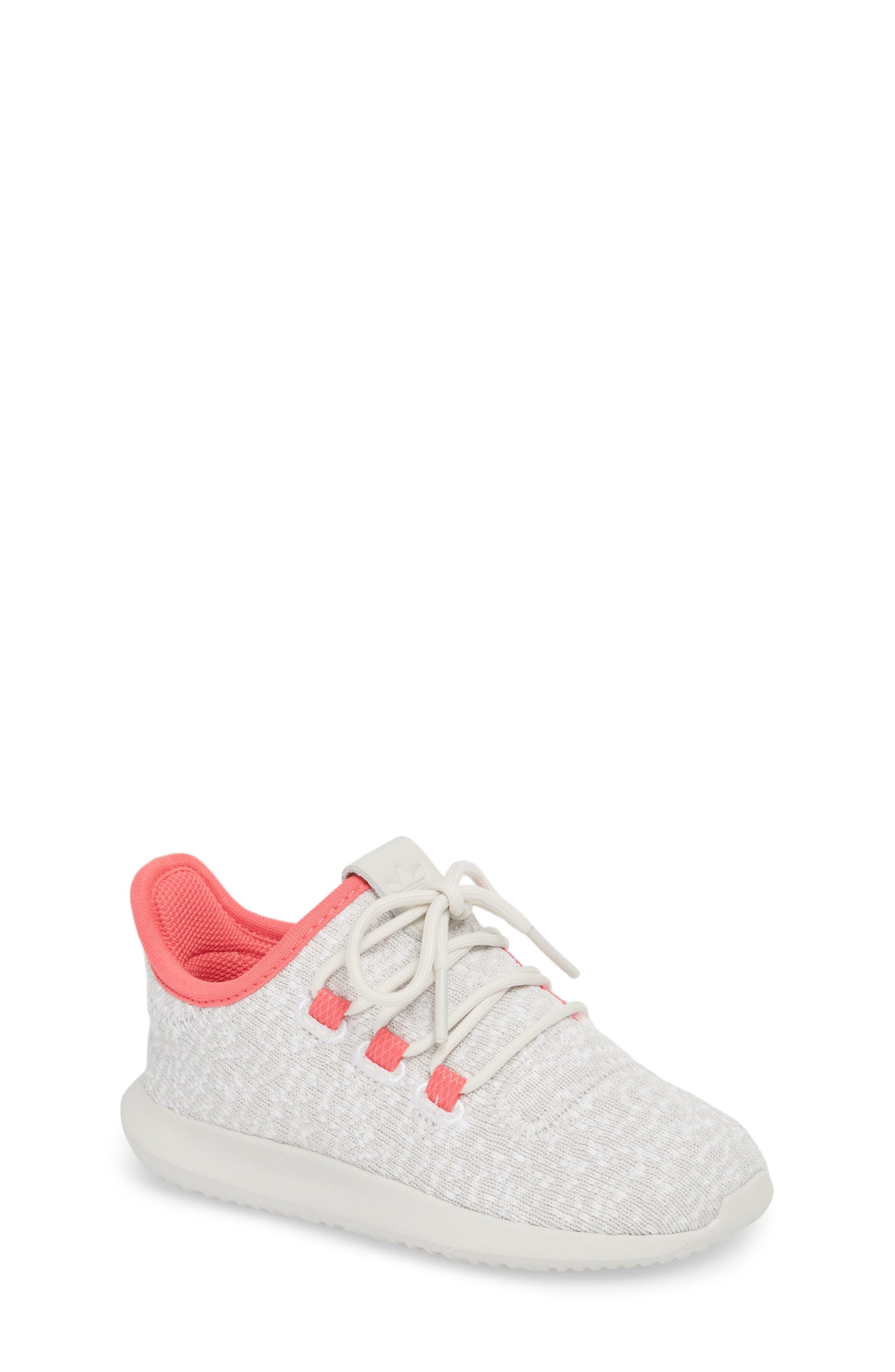 Tubular Shadow Sneaker,                             Main thumbnail 1, color,                             Grey/ Ash Pink/ White