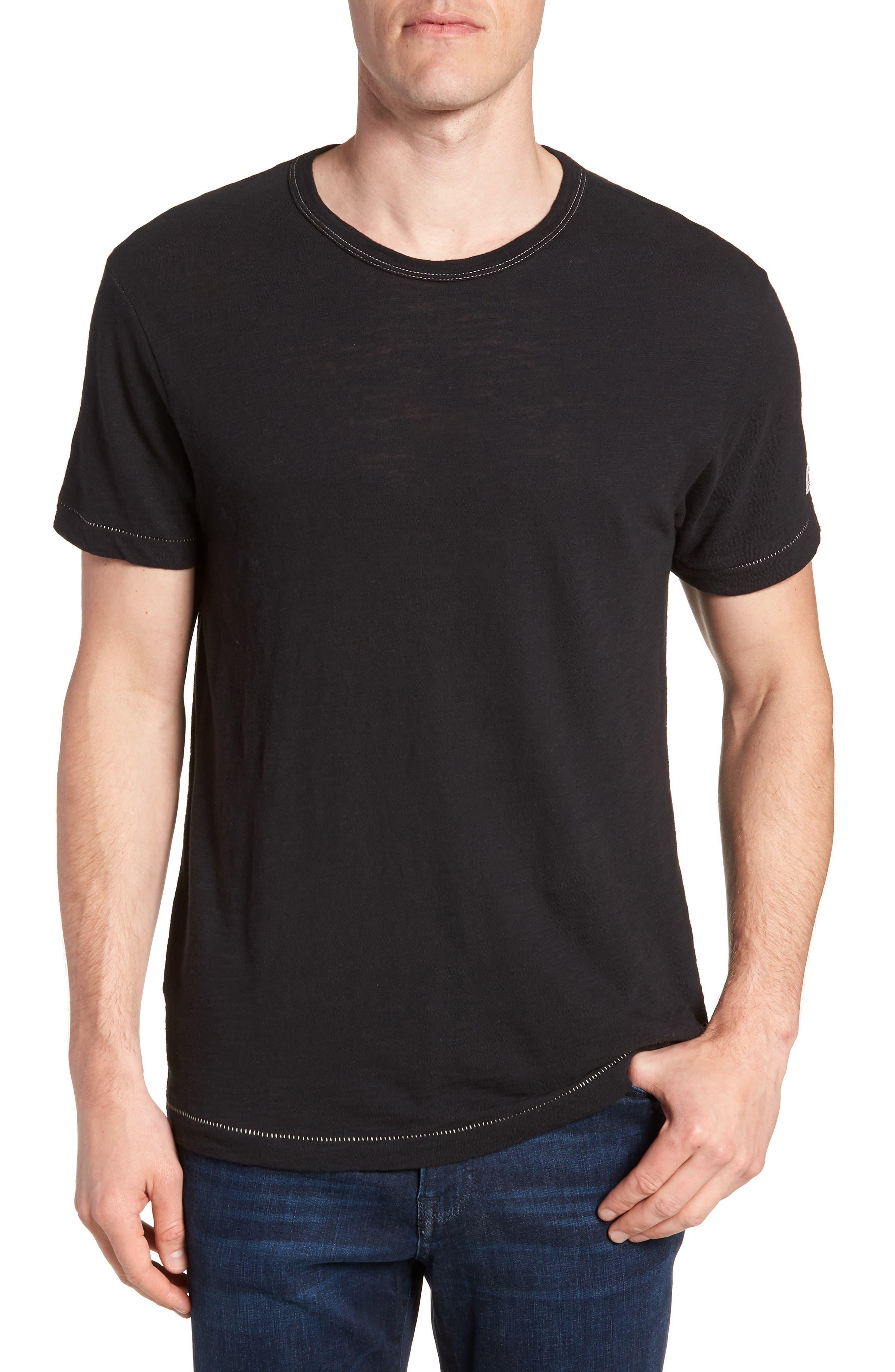 + Champion T-Shirt,                             Main thumbnail 1, color,                             Black