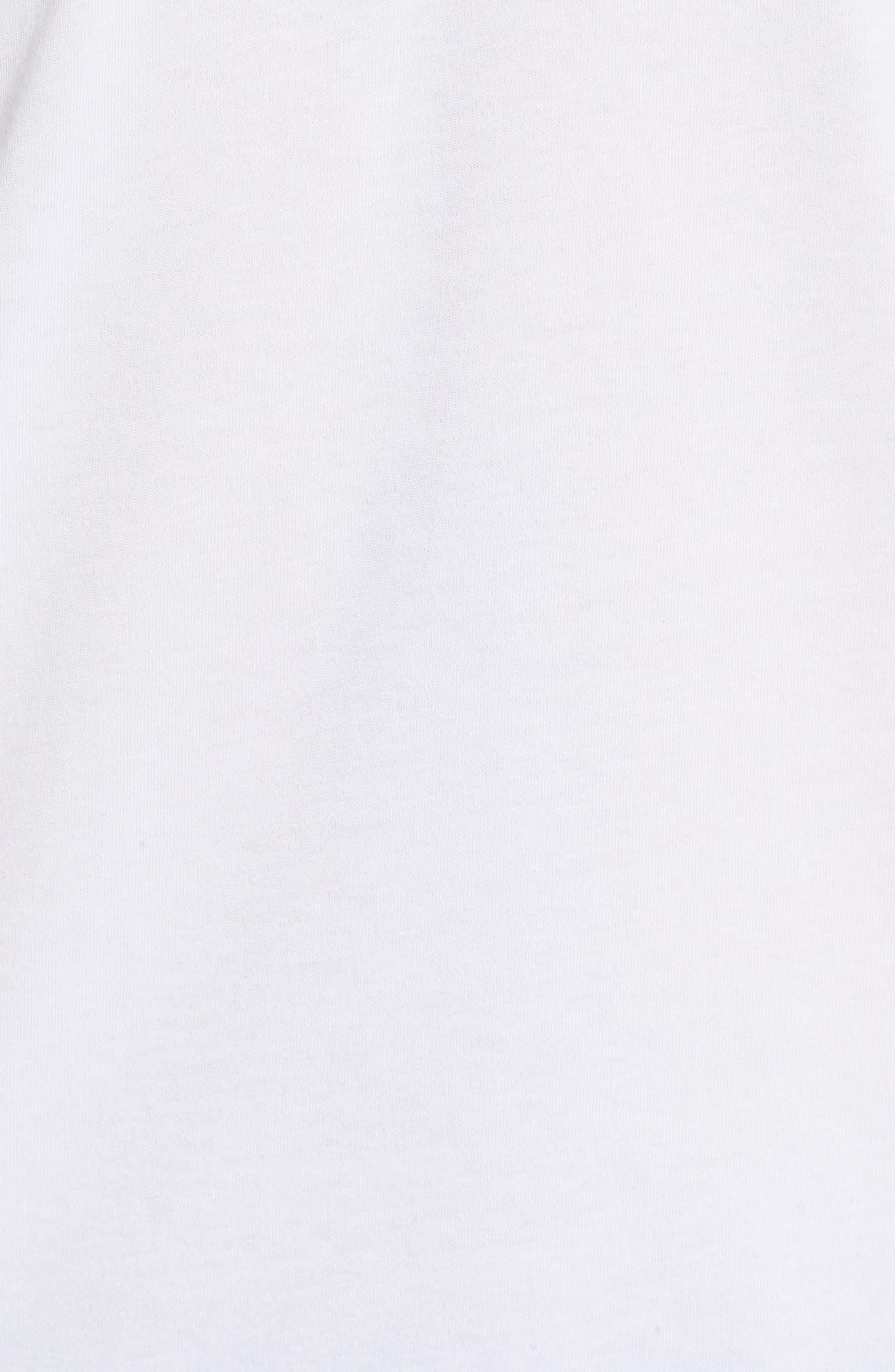 Dry Lockup T-Shirt,                             Alternate thumbnail 5, color,                             White/ Black