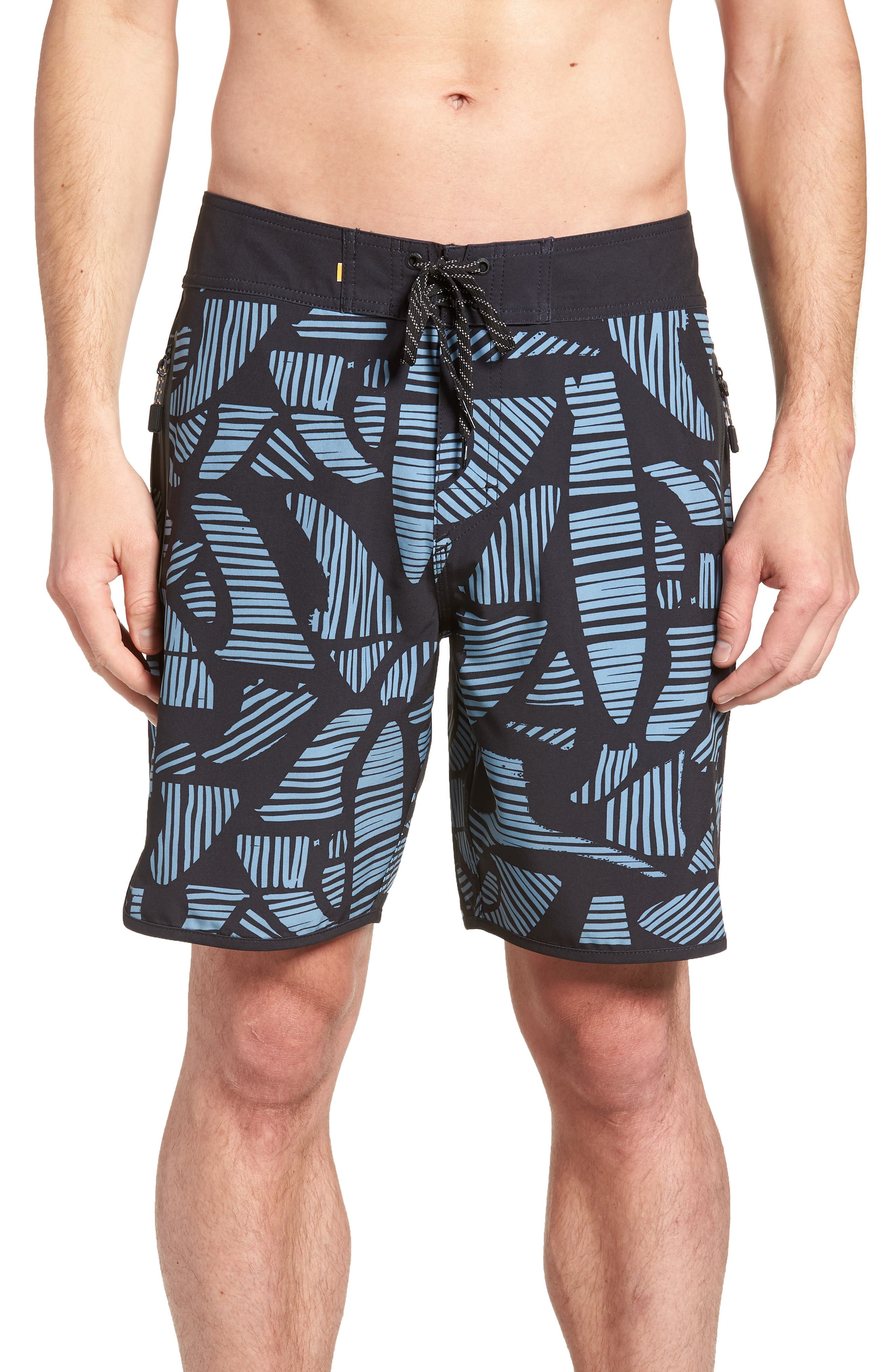 Odysea Board Shorts,                             Main thumbnail 1, color,                             Black