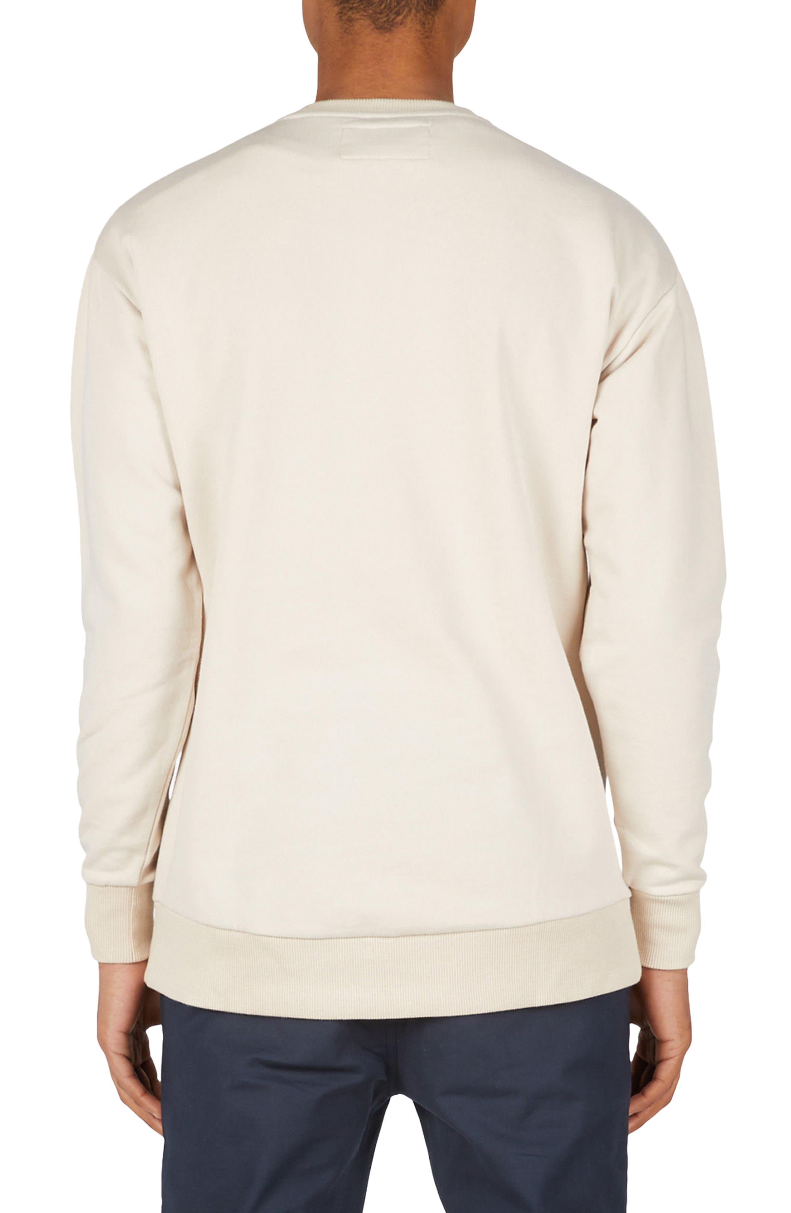Sponsor Rugger Sweatshirt,                             Alternate thumbnail 2, color,                             Natural