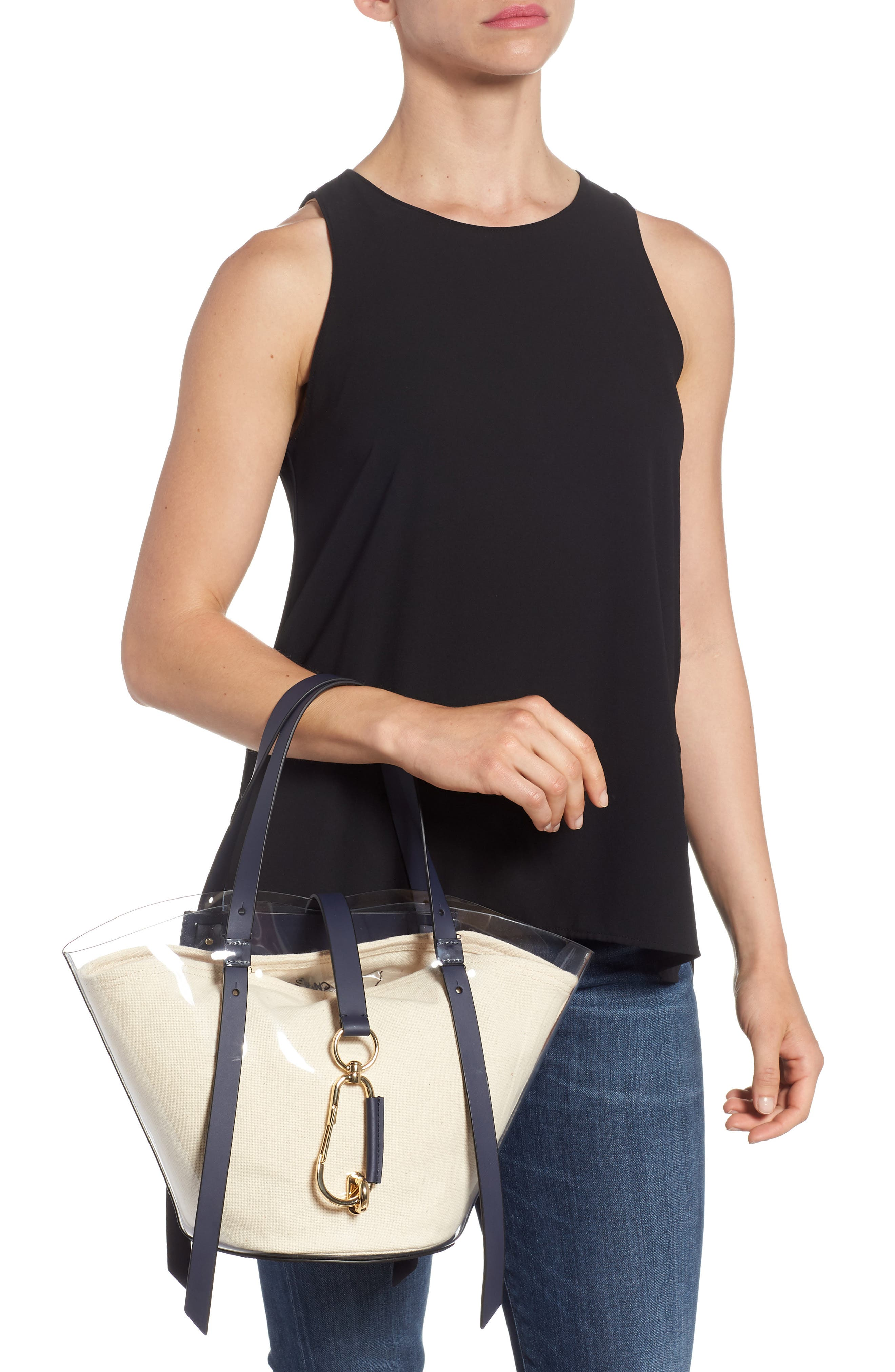 Small Belay Tote,                             Alternate thumbnail 2, color,                             Navy