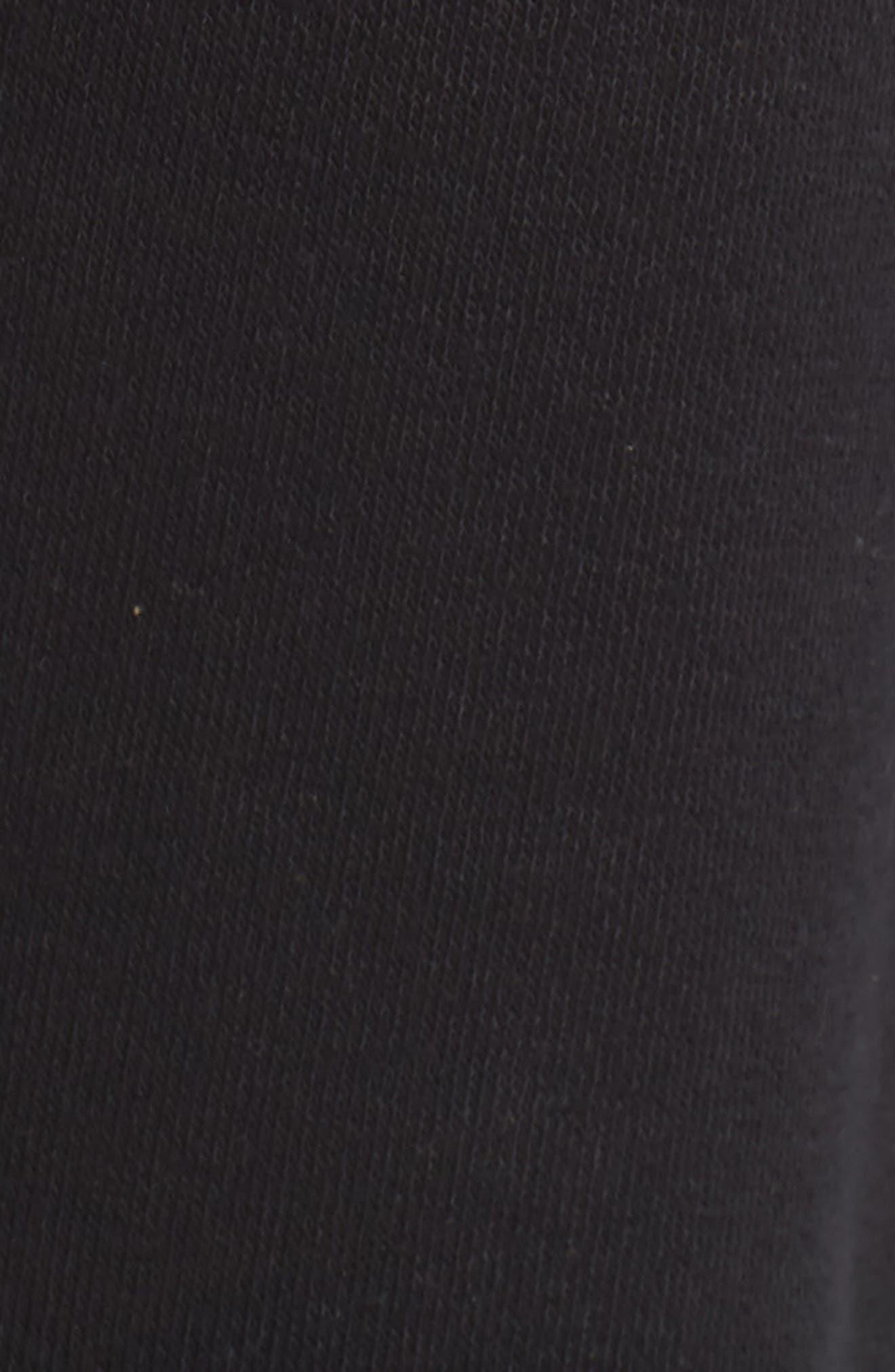 Dreamy Fleece Jogger Pants,                             Alternate thumbnail 6, color,                             Black
