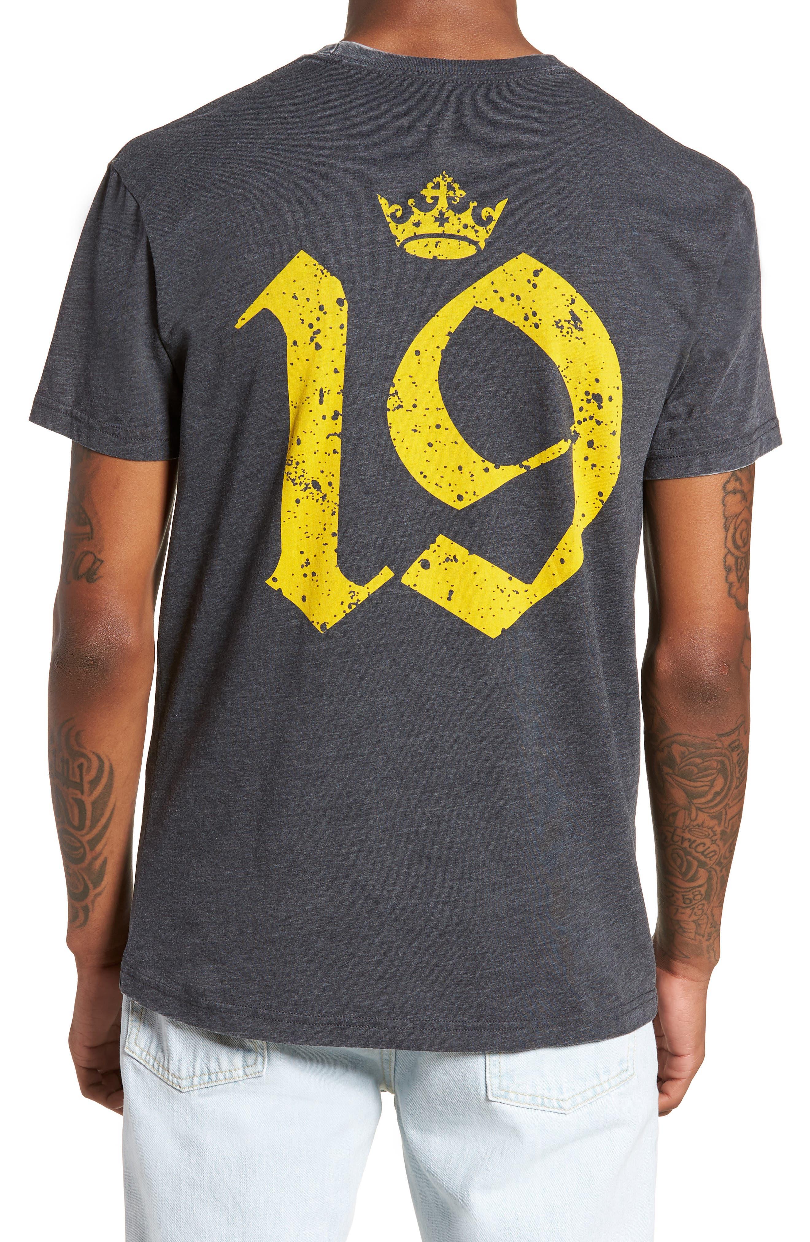 England T-Shirt,                             Alternate thumbnail 2, color,                             Grey