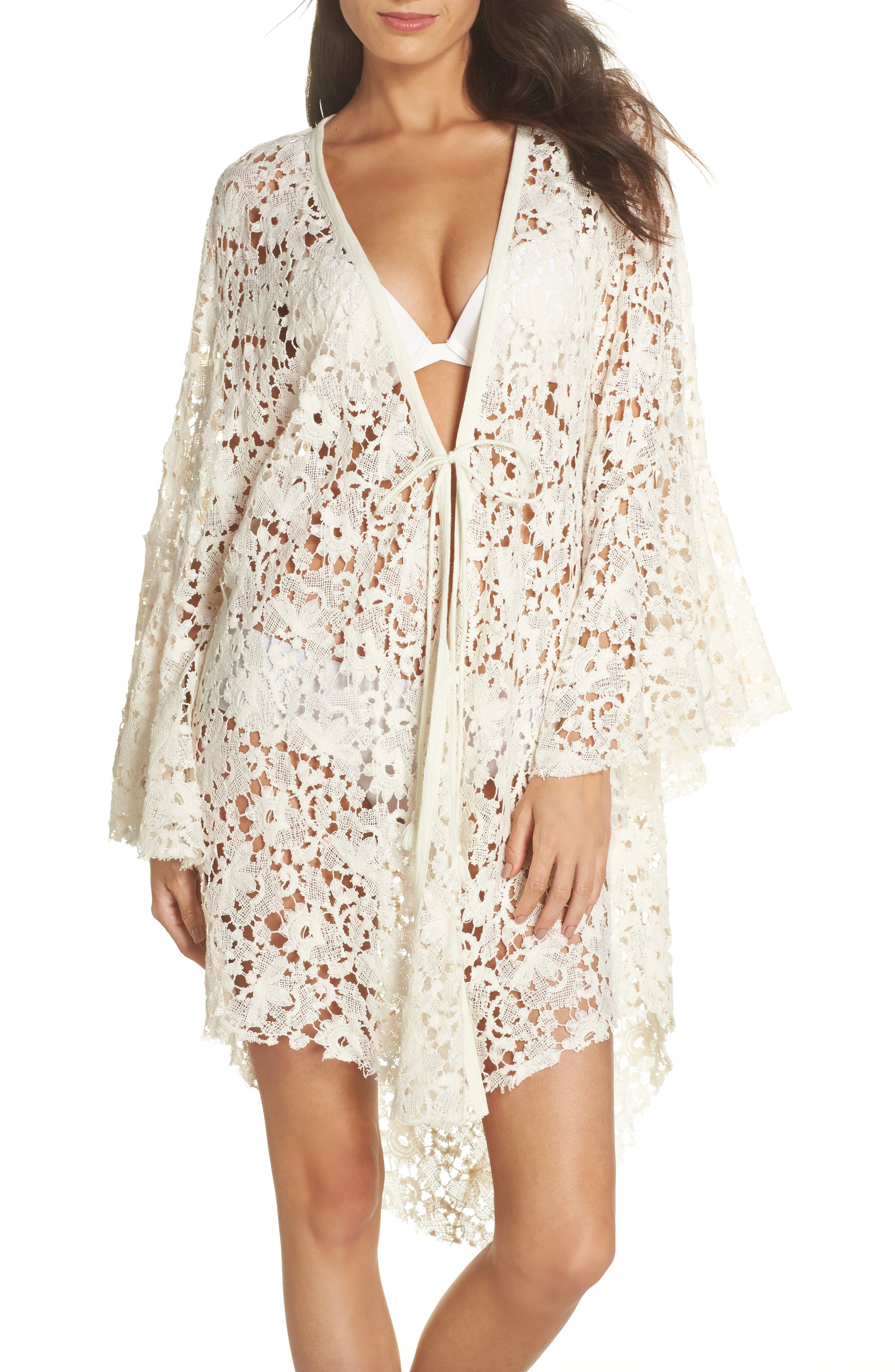 Move Over Lace Wrap,                         Main,                         color, Ivory