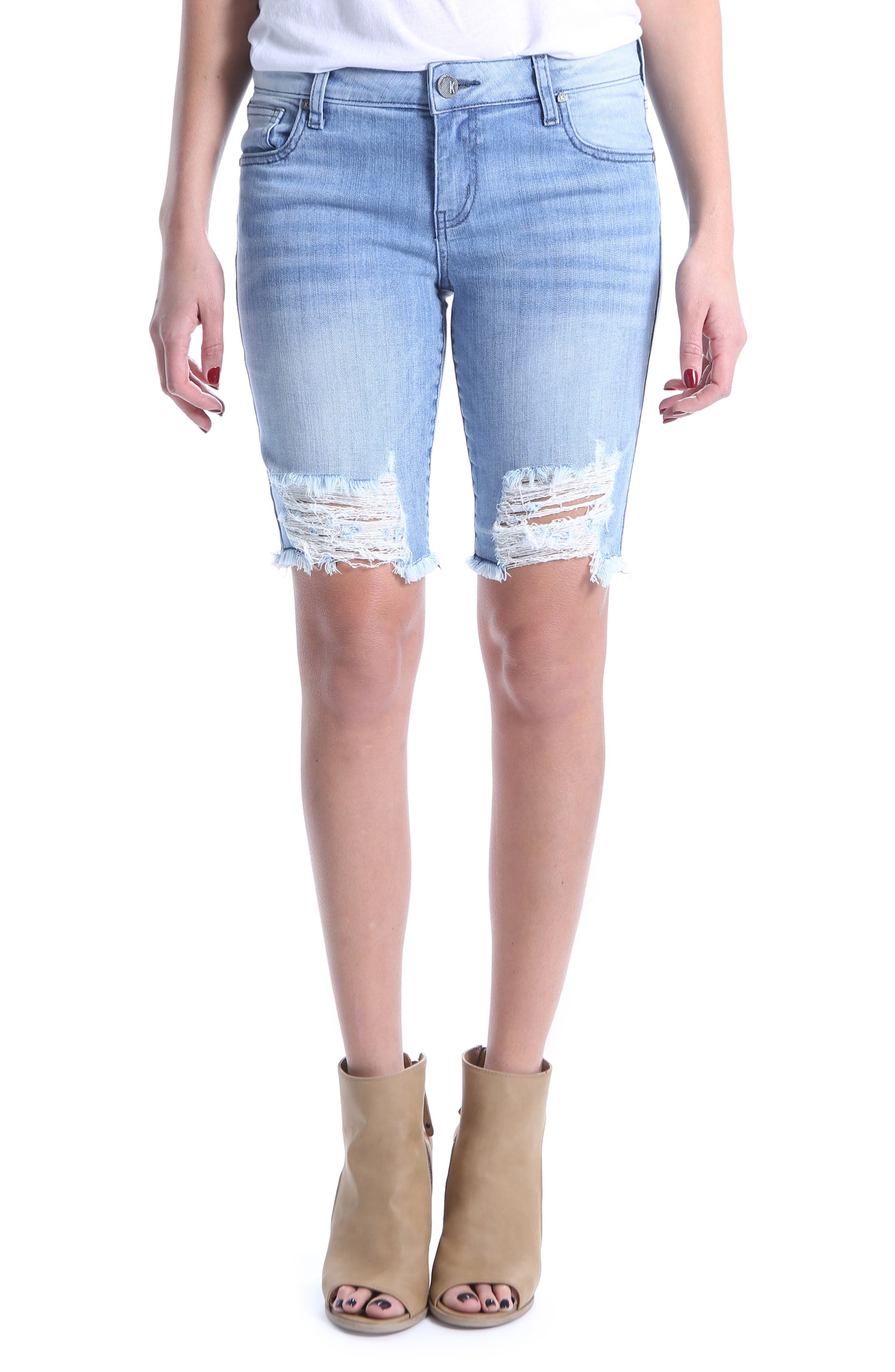 KUT from the Kloth Sophie Bermuda Shorts (Commence)