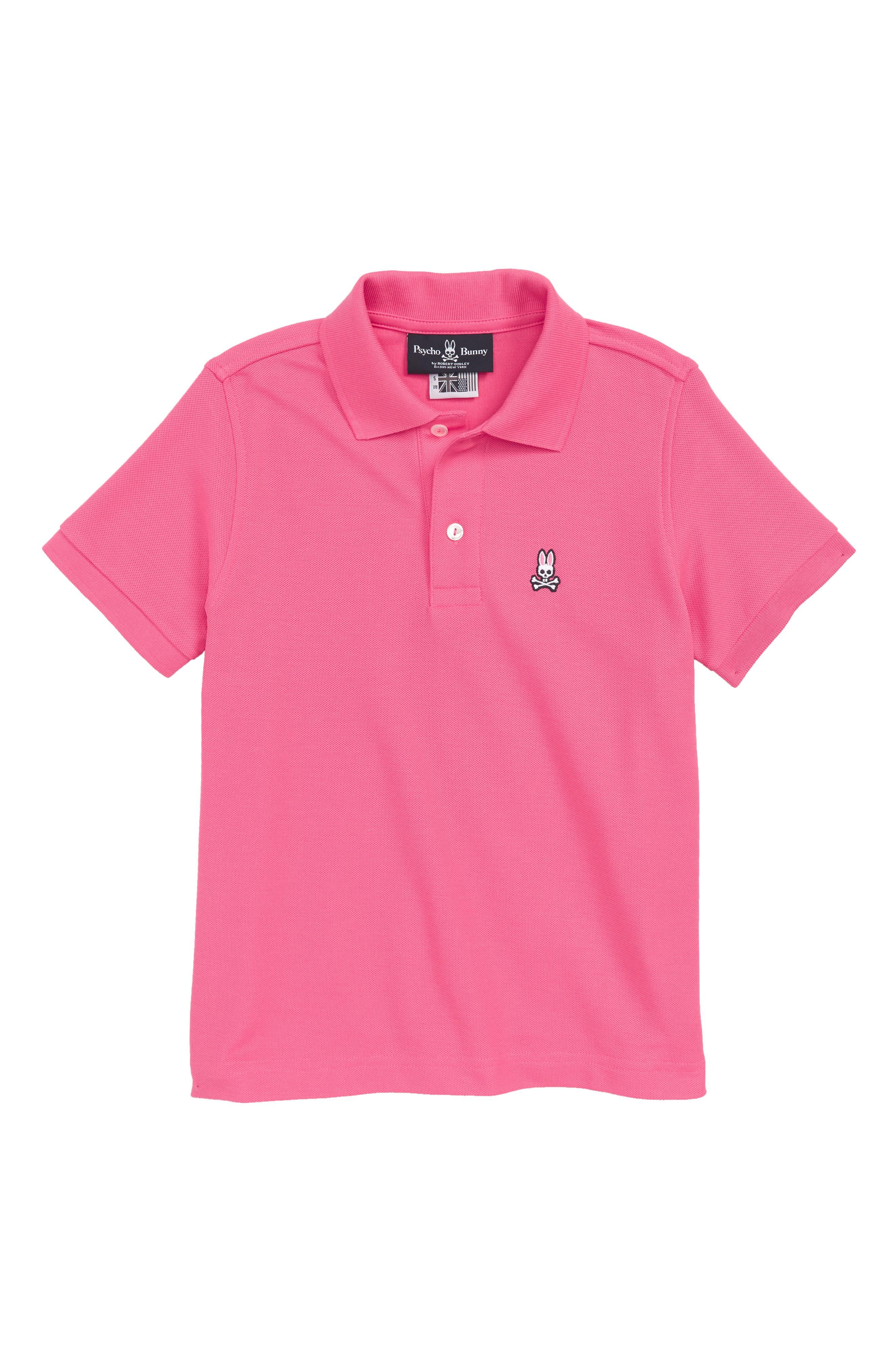 Classic Polo,                             Main thumbnail 1, color,                             Hot Pink