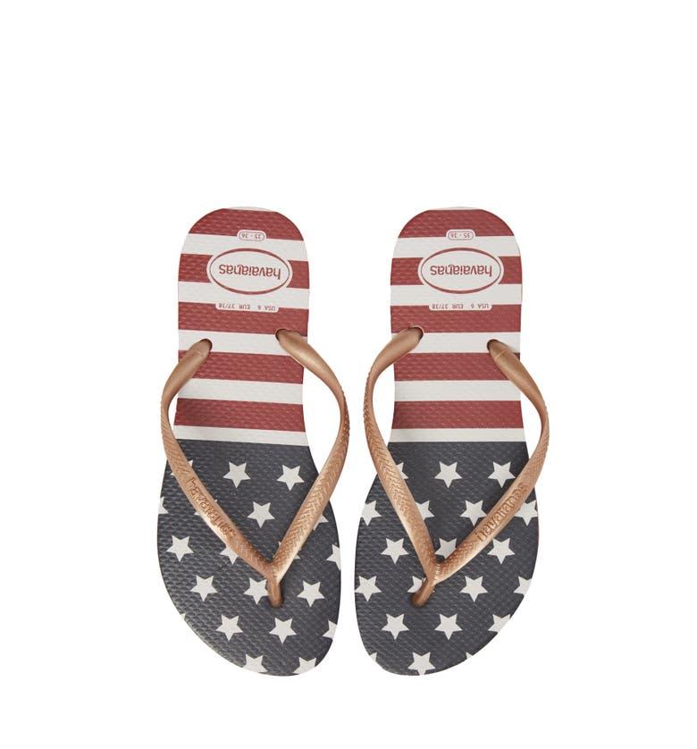 Havaianas USA Slim Flip Flop