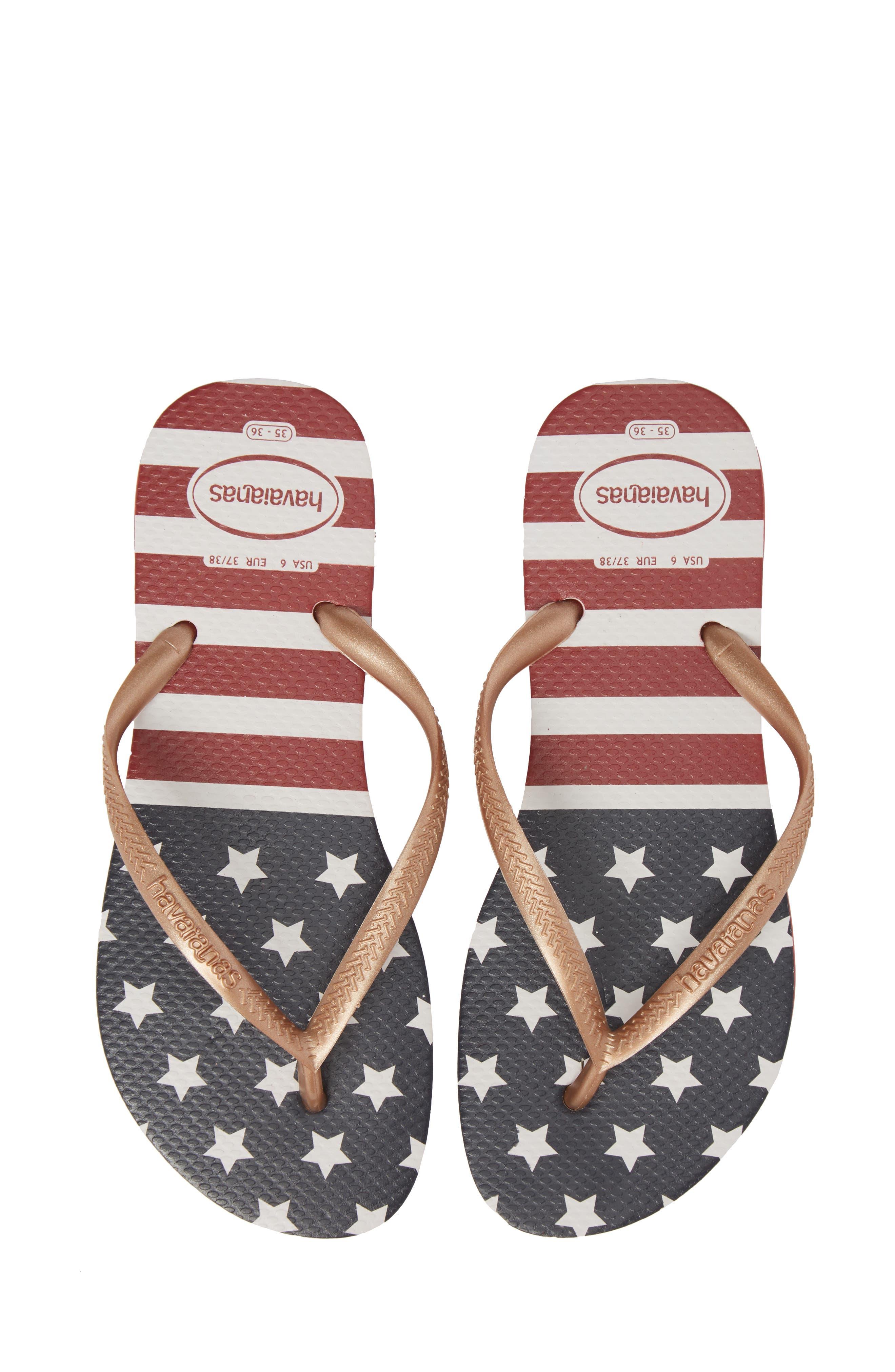 Havaianas USA Slim Flip Flop (Women)