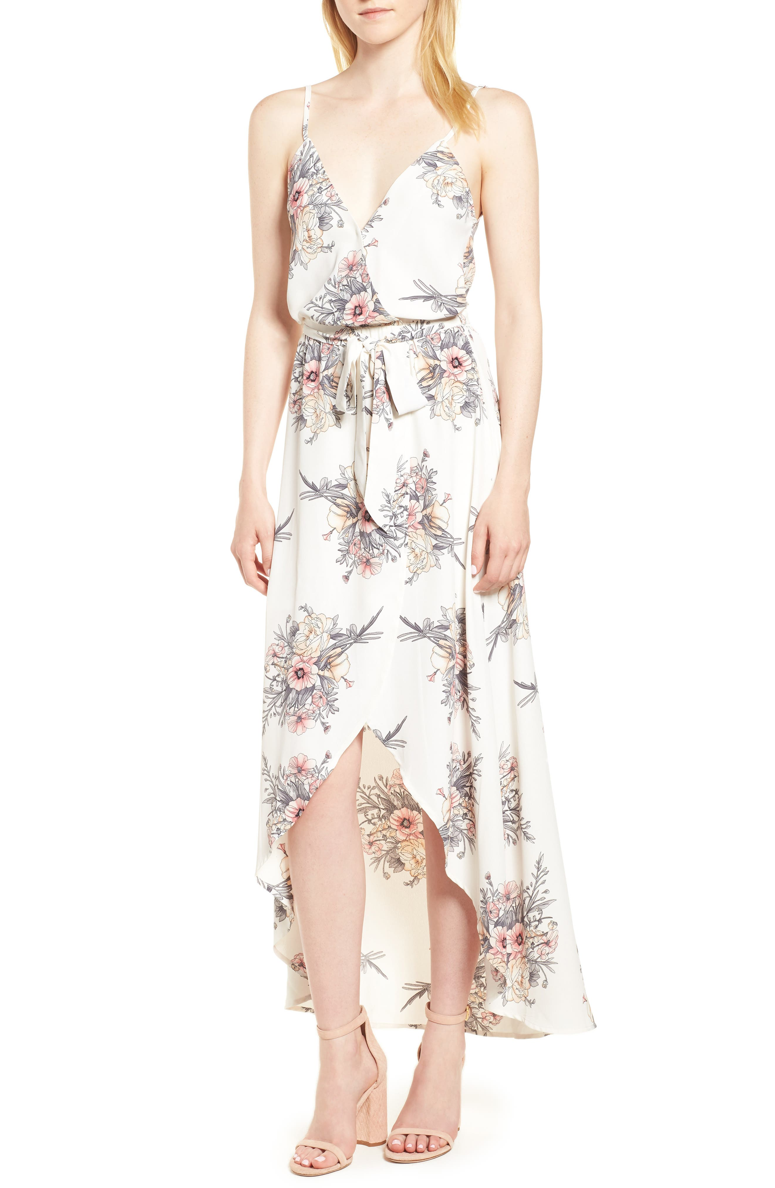 Bishop + Young Summer of Love Maxi Dress,                         Main,                         color, Summer Of Love Print