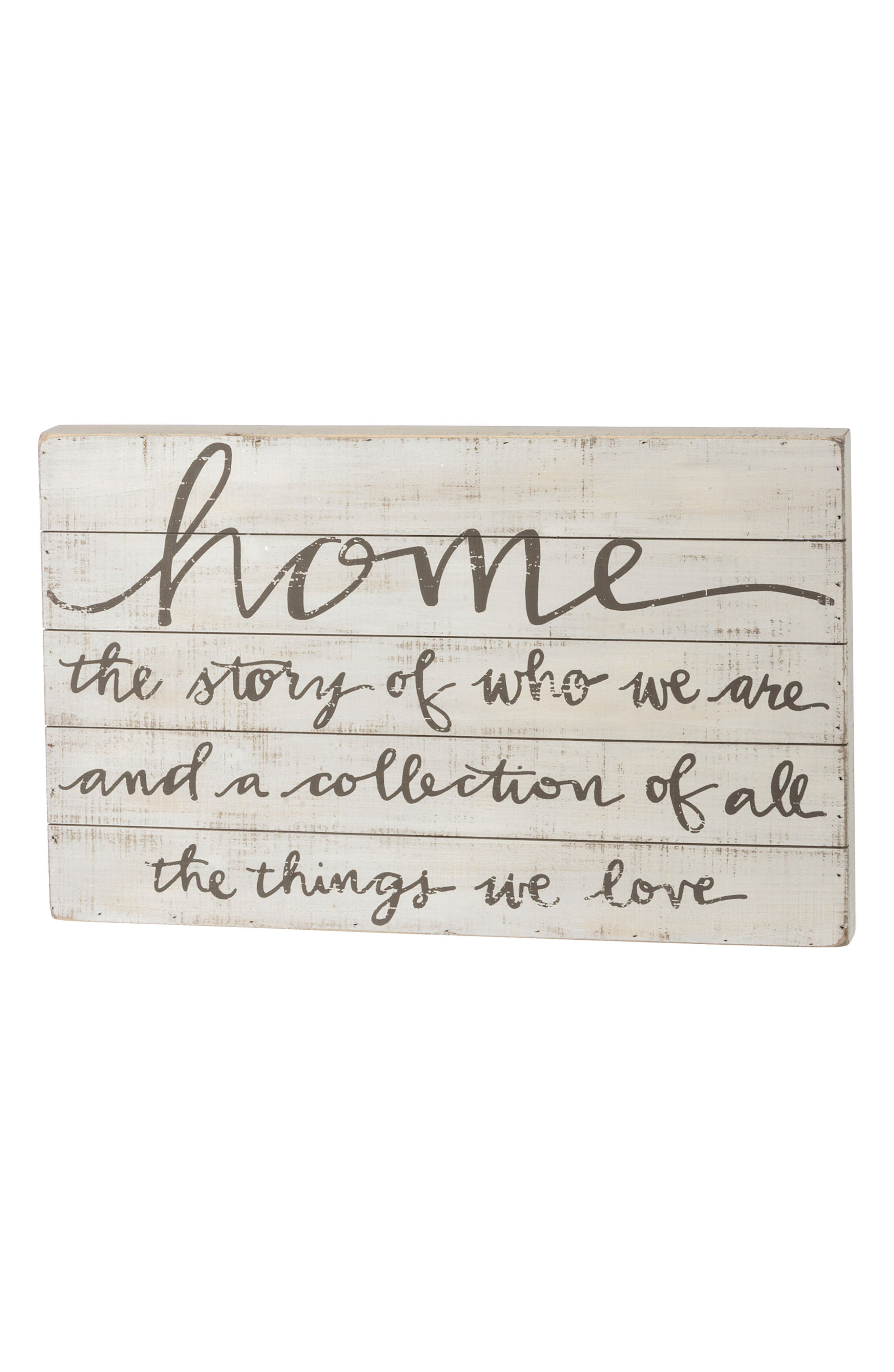 Primitives by Kathy Home Slat Box Sign