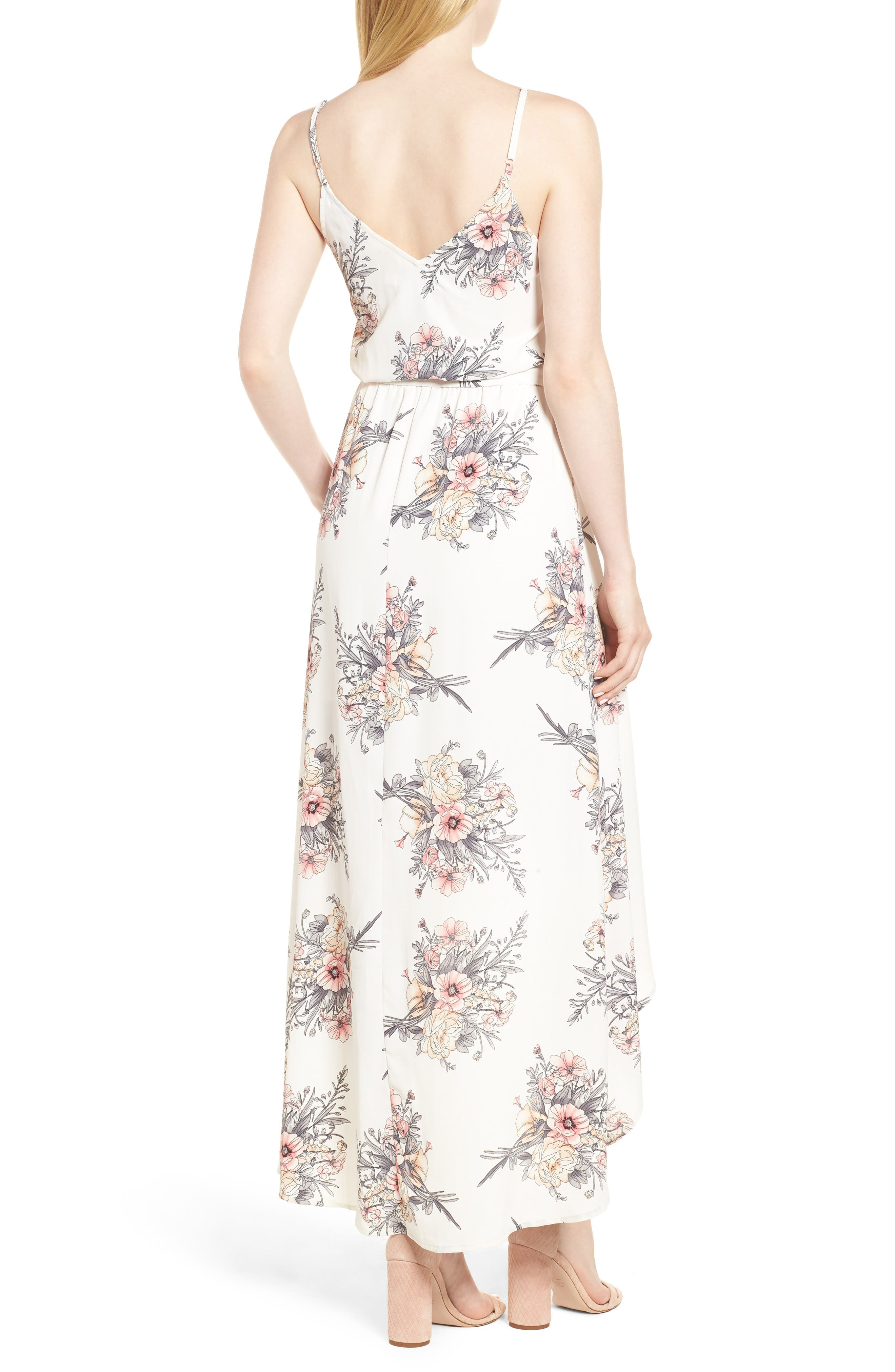 Bishop + Young Summer of Love Maxi Dress,                             Alternate thumbnail 2, color,                             Summer Of Love Print