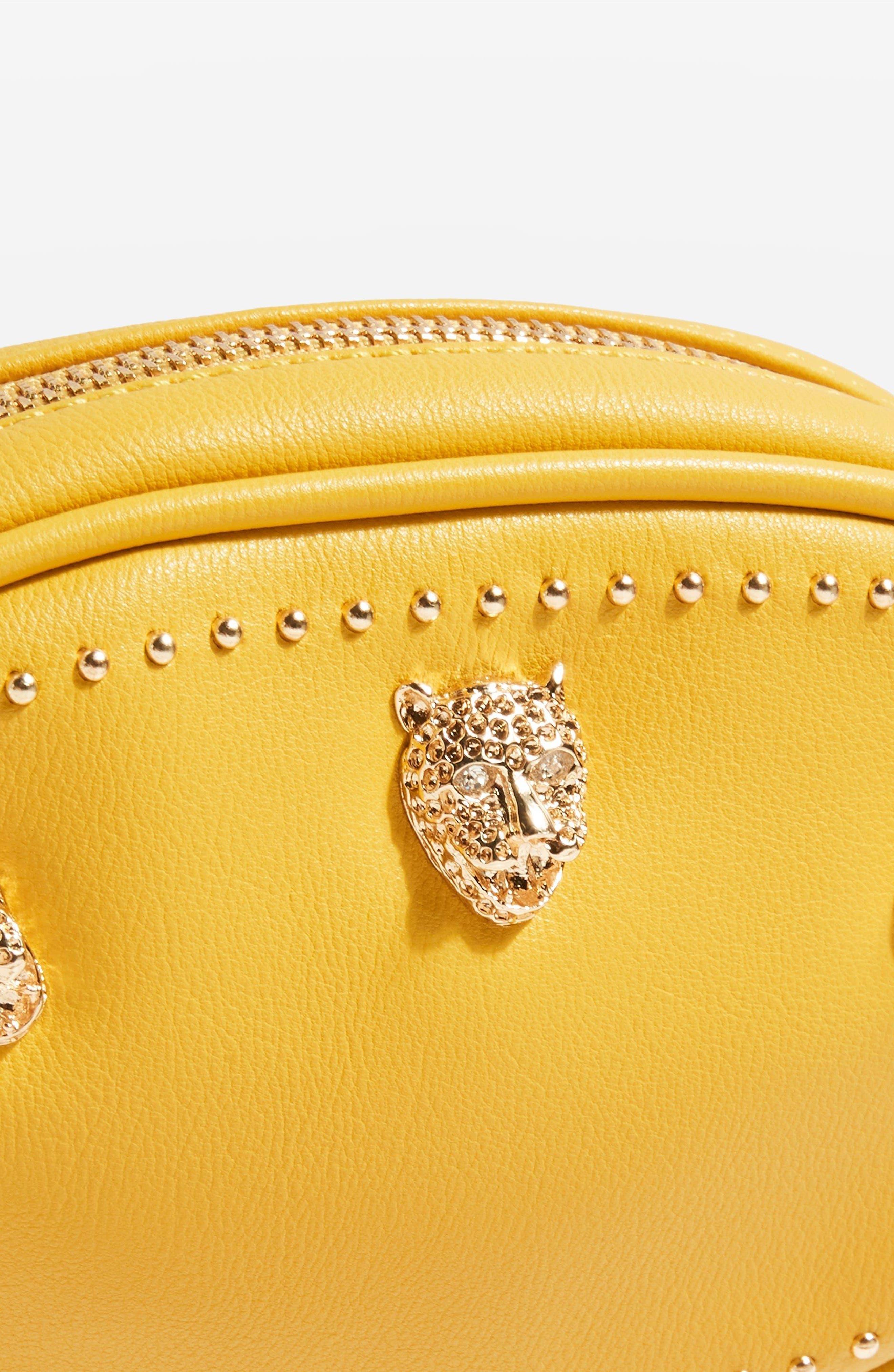 Panther Bum Bag,                             Alternate thumbnail 6, color,                             Yellow