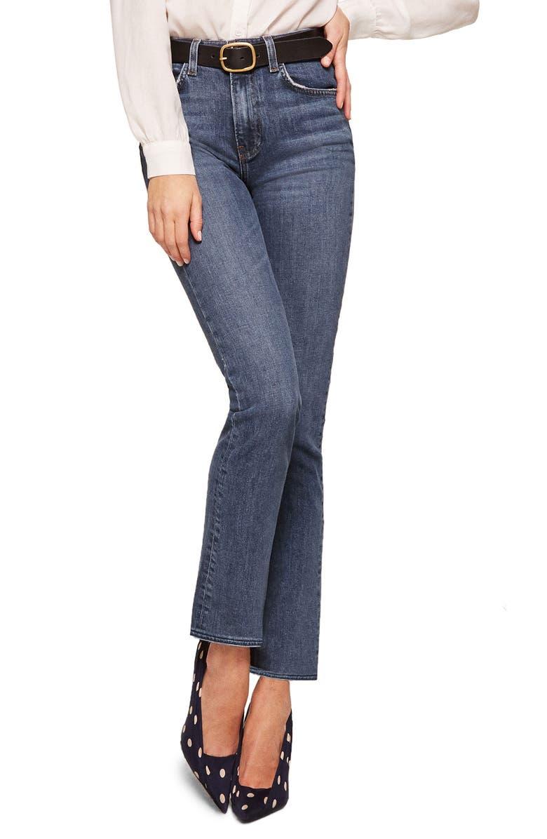 Liza High Waist Straight Leg Jeans