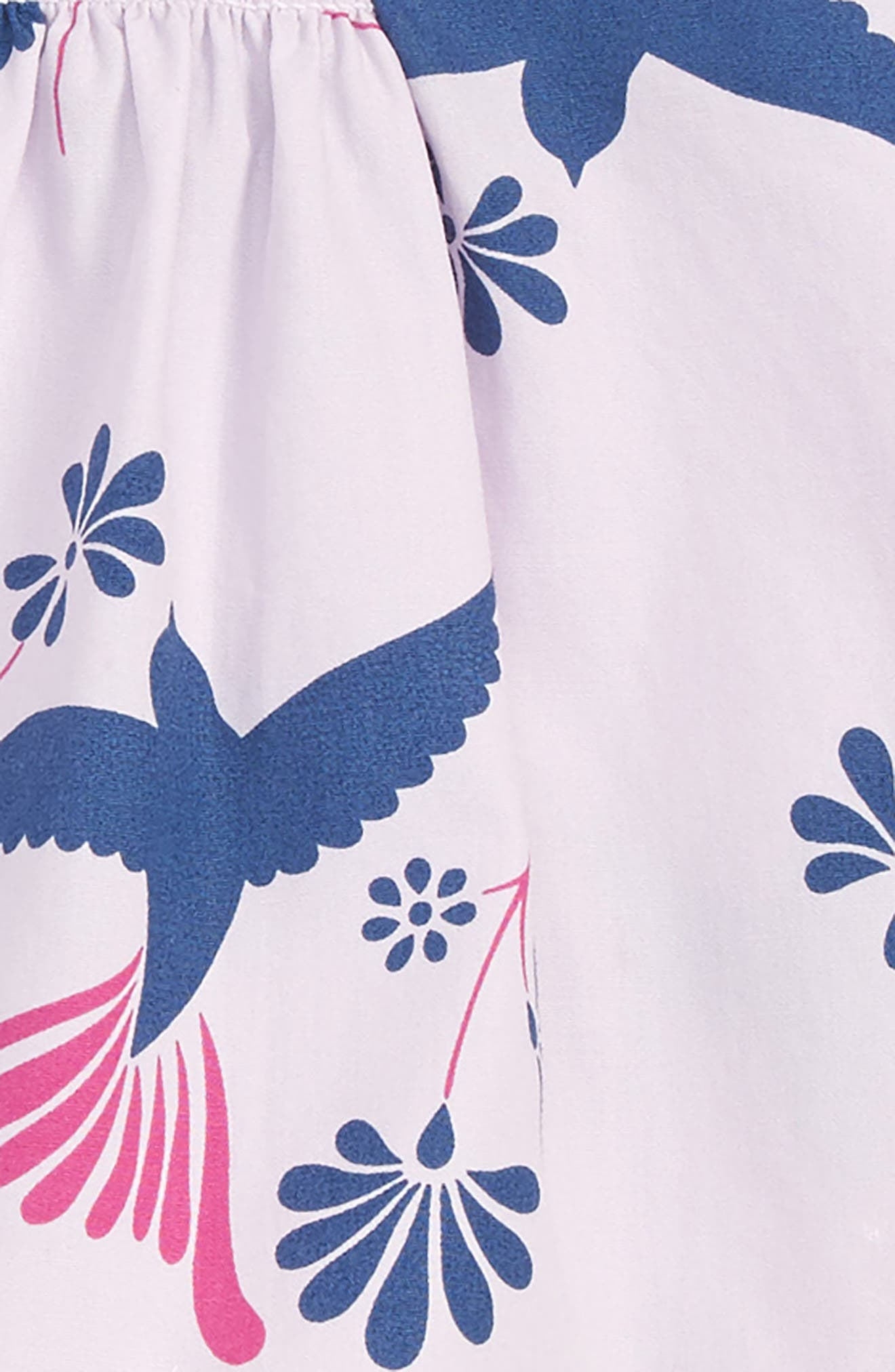 Shoulder Tie Top & Shorts Set,                             Alternate thumbnail 2, color,                             Birds Of A Feather