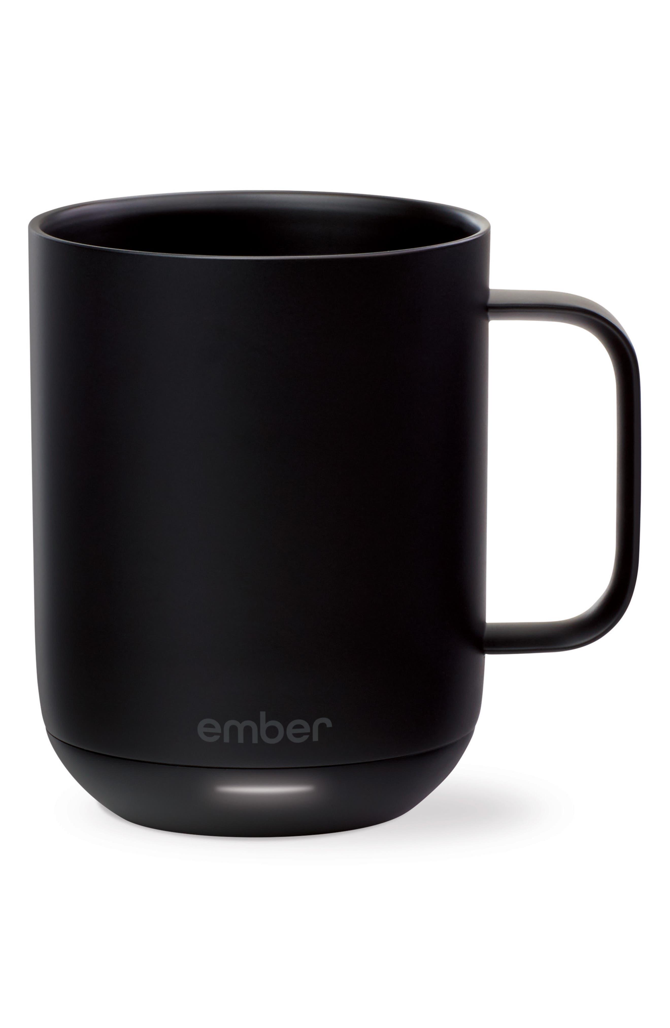 Ceramic Mug,                             Alternate thumbnail 2, color,                             Black