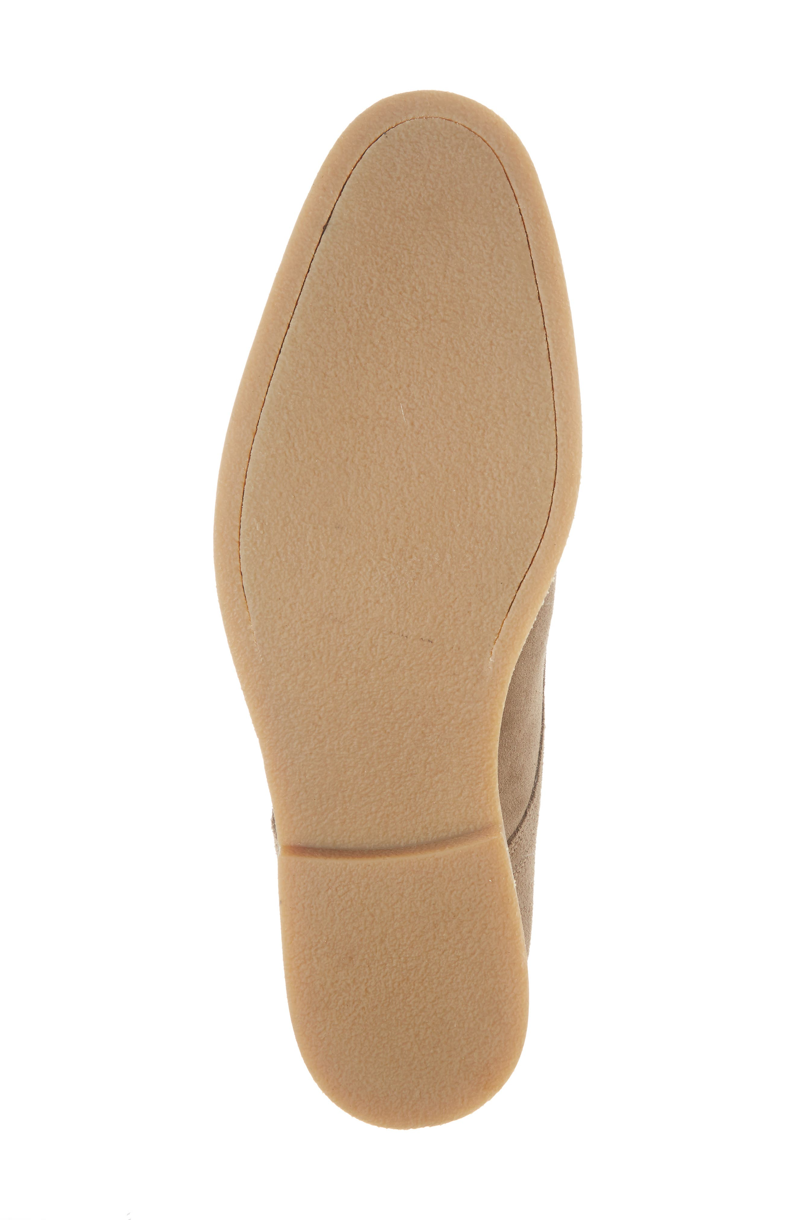 Santino Plain Toe Derby,                             Alternate thumbnail 6, color,                             Taupe Suede