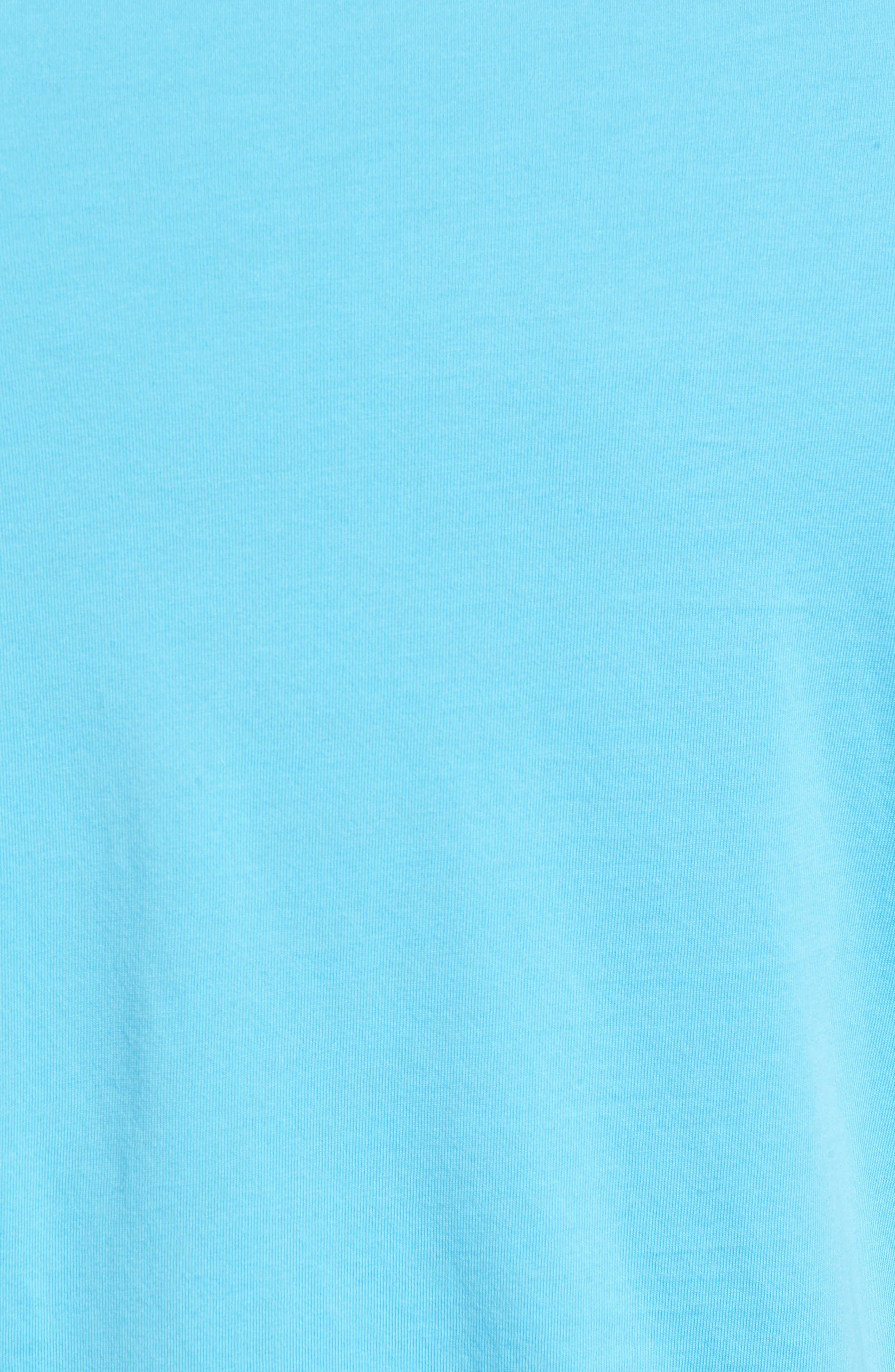 Bali Skyline T-Shirt,                             Alternate thumbnail 5, color,                             Breeze Blue