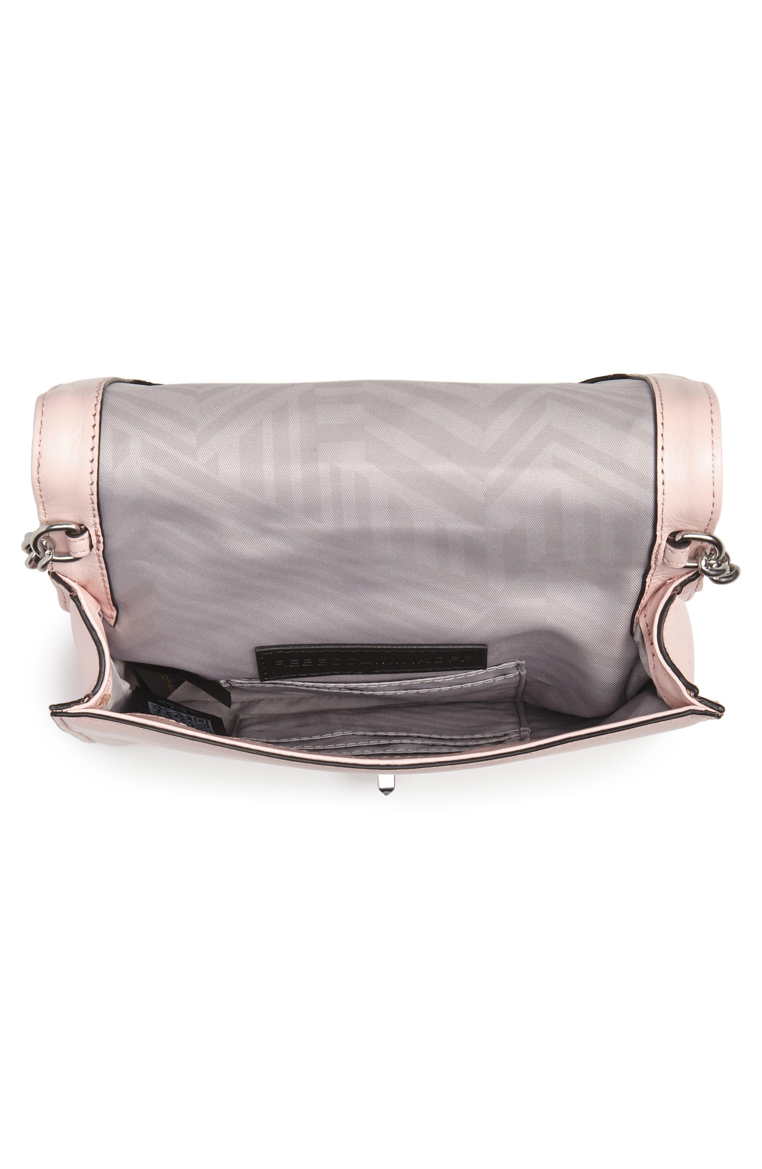 Alternate Image 4  - Rebecca Minkoff Small Love Leather Crossbody Bag