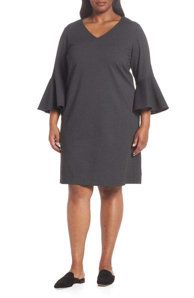 Holly Flare Cuff Dress