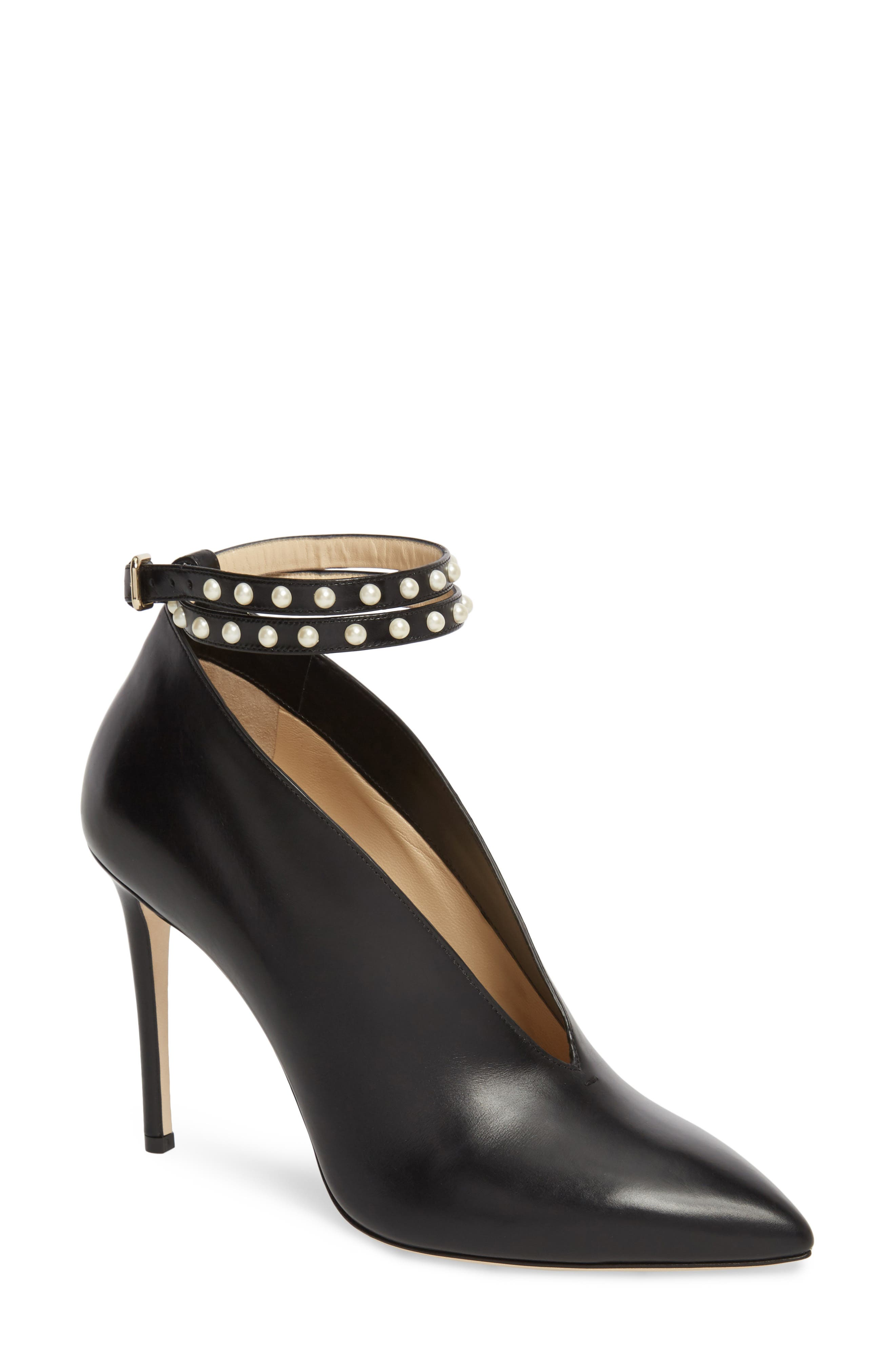 Jimmy Choo Lark Ankle Strap Pump (Women)
