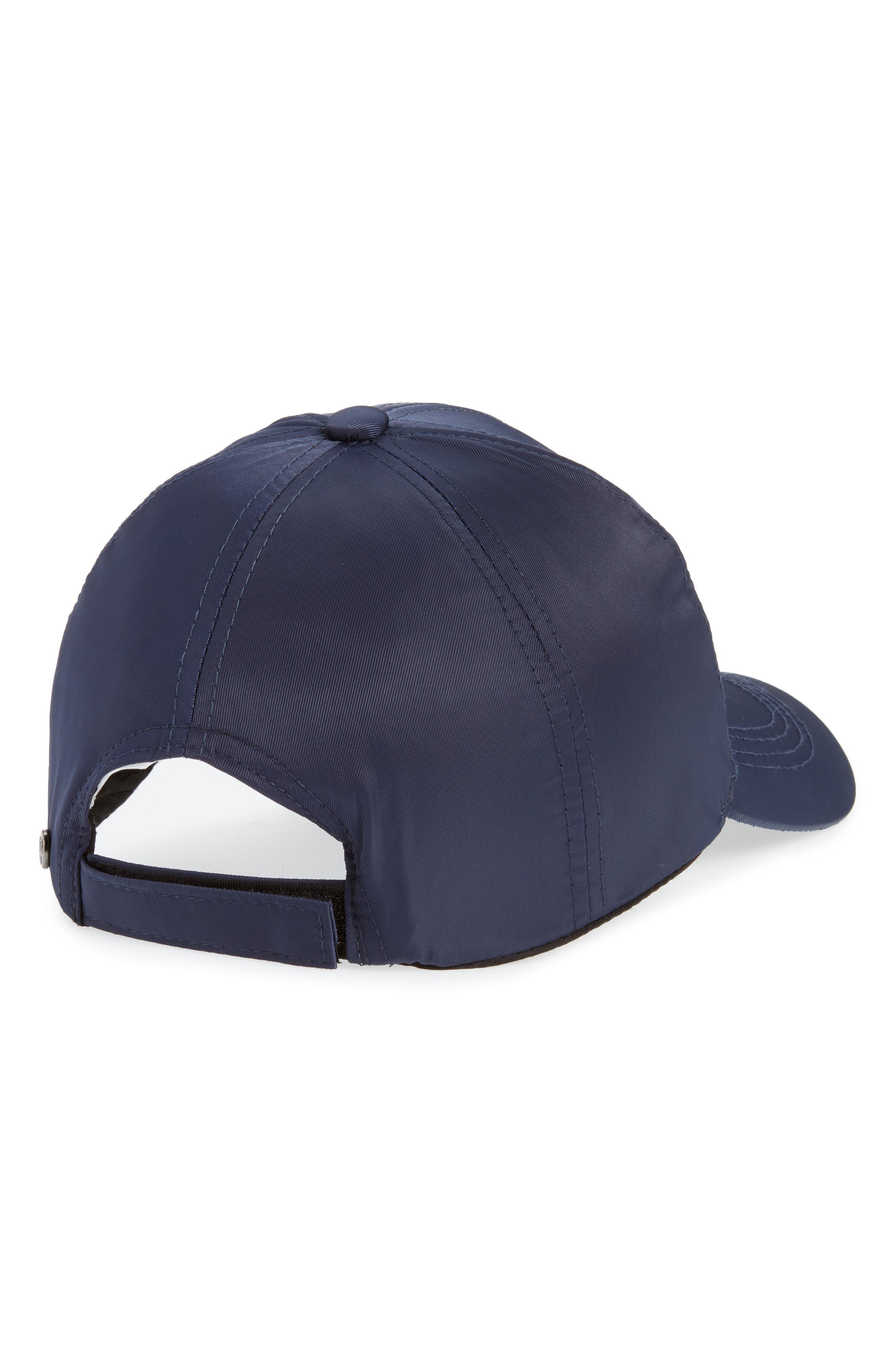 Water Repellent Baseball Hat,                             Alternate thumbnail 2, color,                             Blue Insignia
