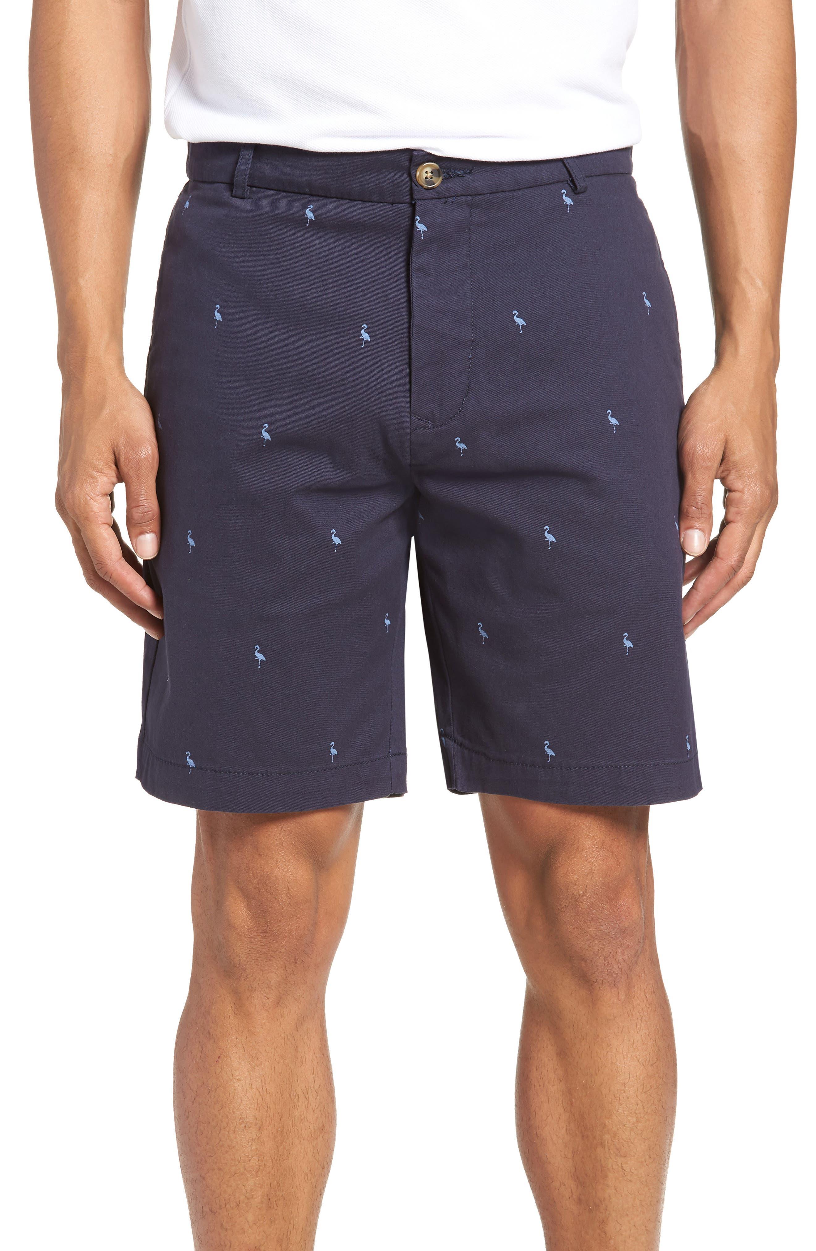 Barlow Bird Regular Fit Chino Shorts,                             Main thumbnail 1, color,                             New Navy
