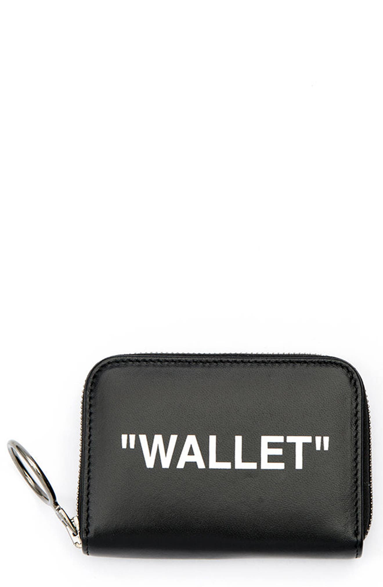 Off-White Medium Leather Wallet