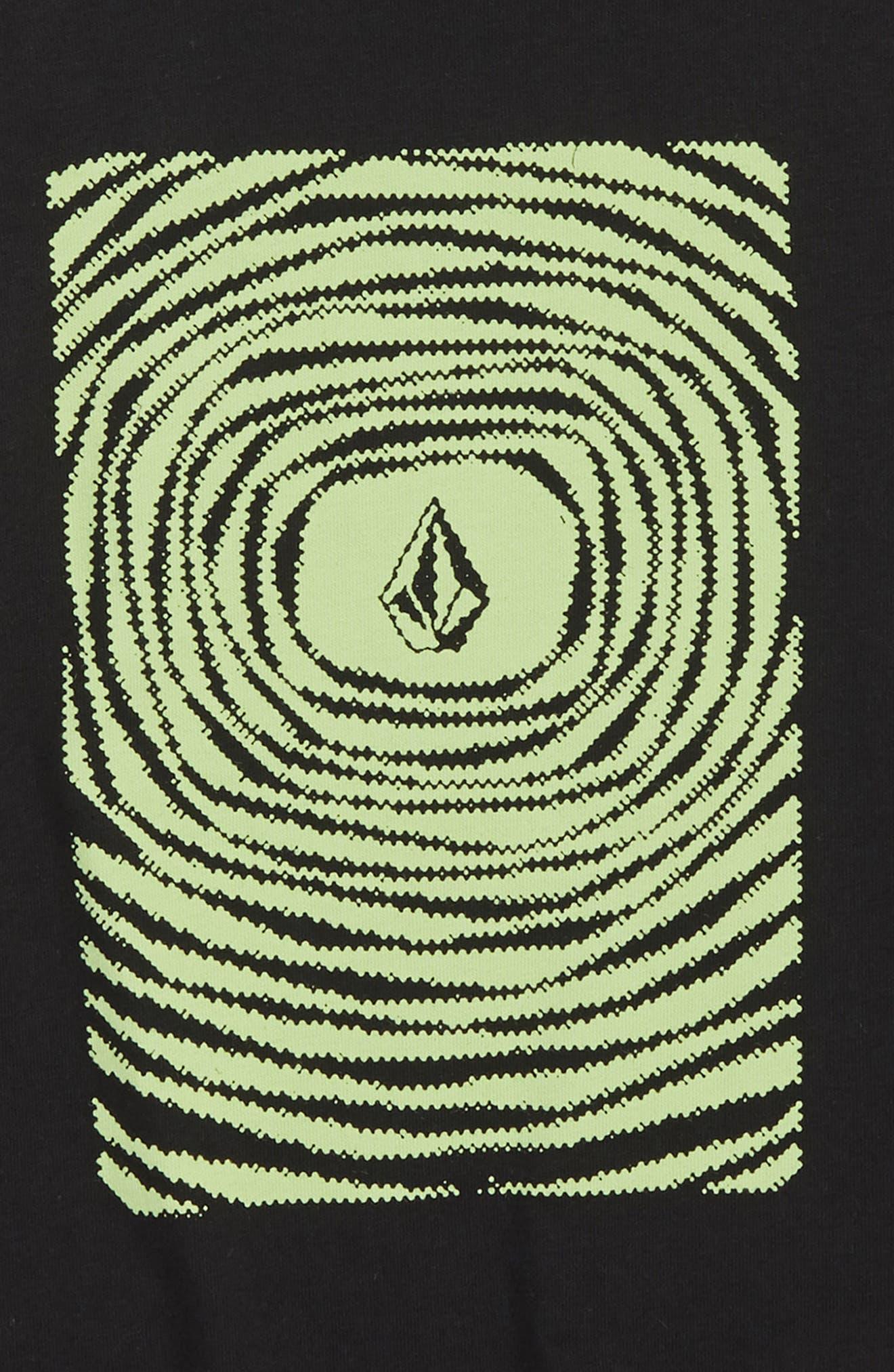 Engulf Graphic T-Shirt,                             Alternate thumbnail 2, color,                             Black