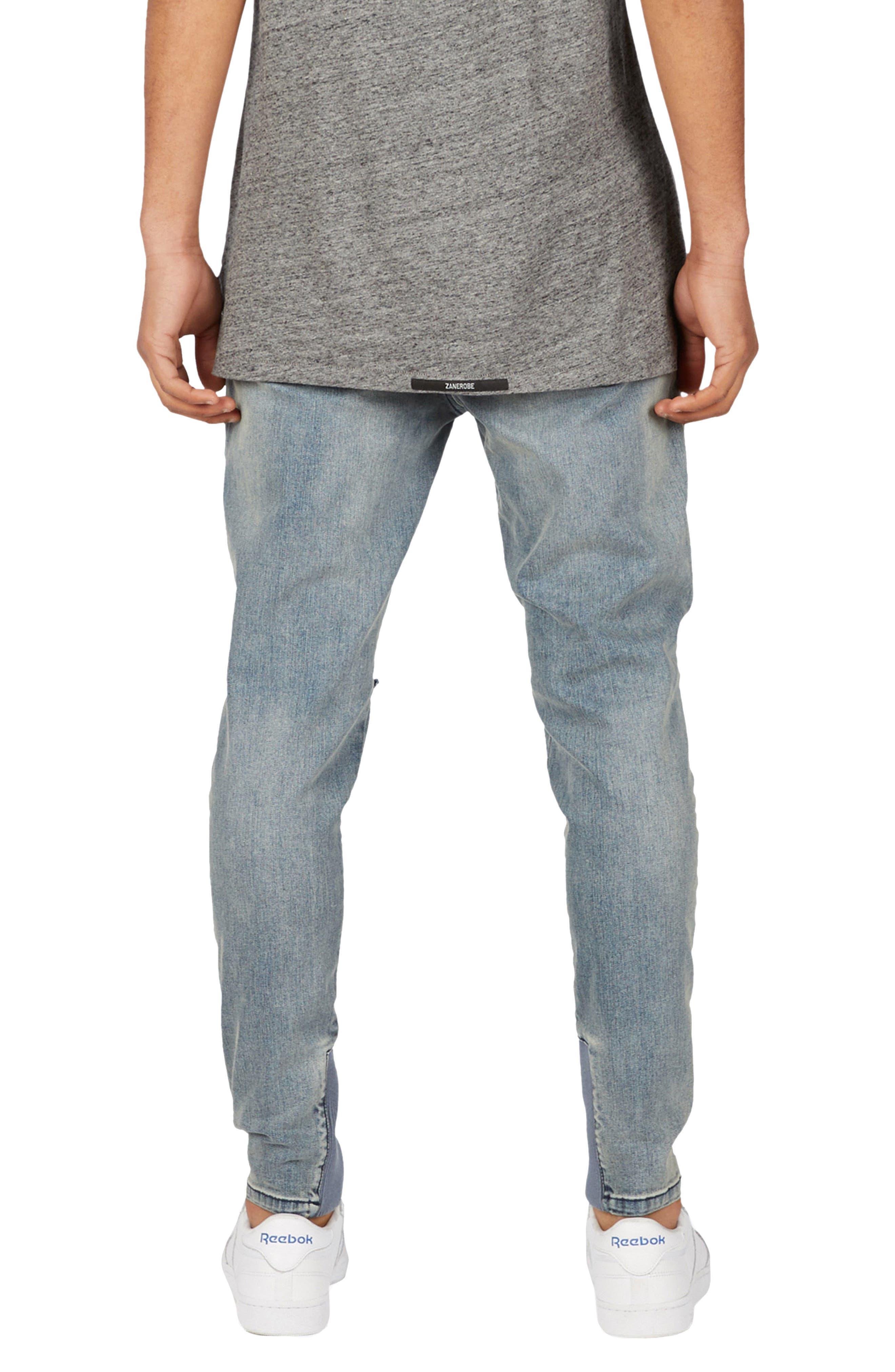 Sharpshot Slouchy Slim Fit Jeans,                             Alternate thumbnail 2, color,                             Double Indigo