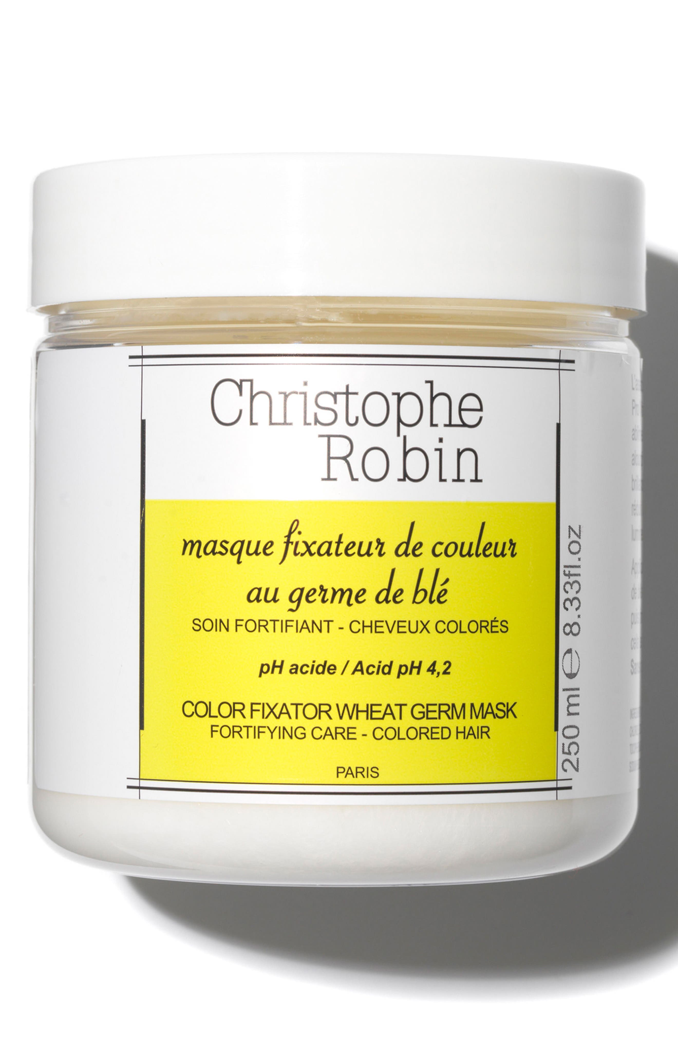 SPACE.NK.apothecary Christophe Robin Color Fixator Wheat Germ Mask,                             Main thumbnail 1, color,                             No Color