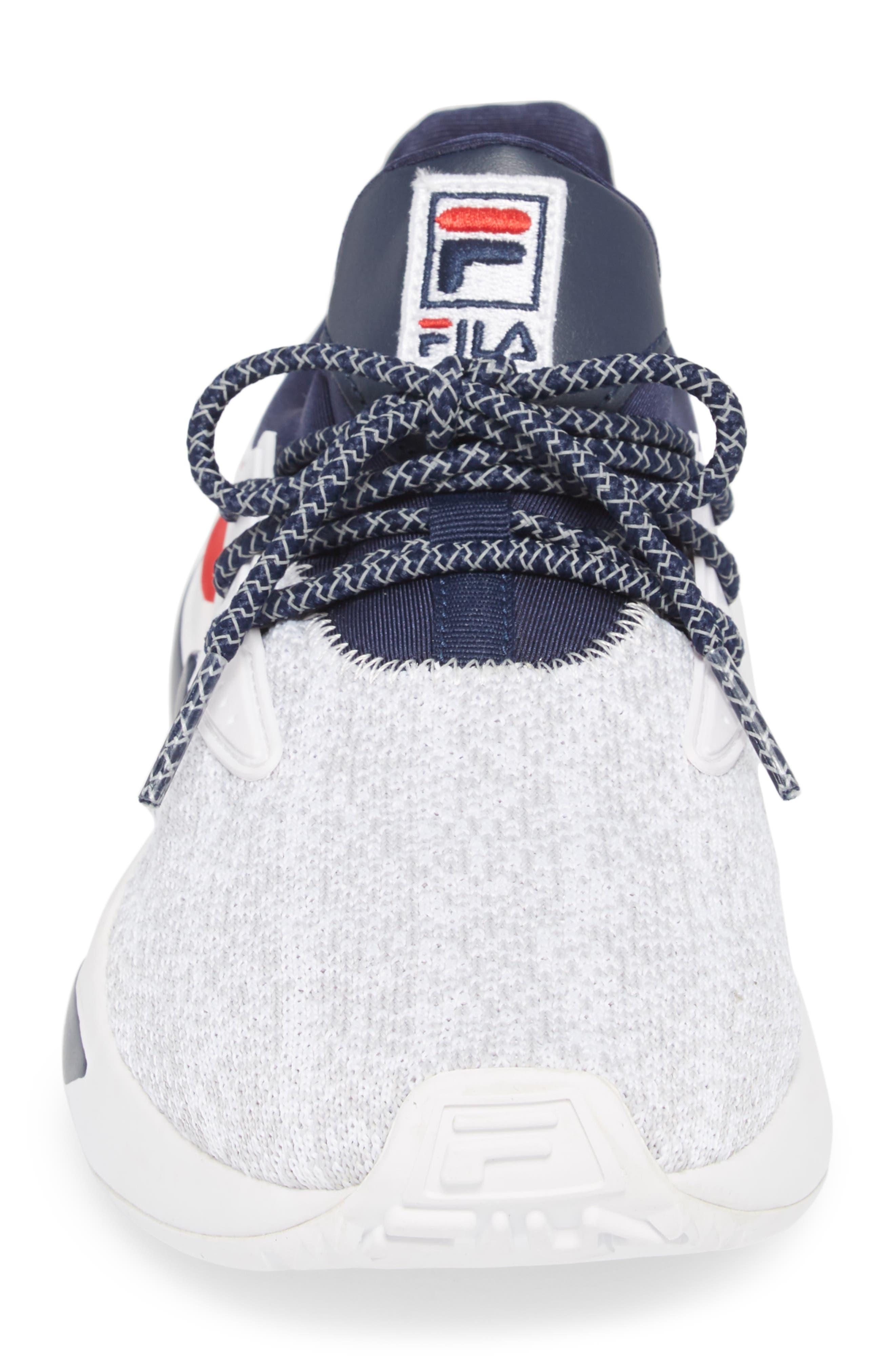 Mindbreaker 2.0 Sneaker,                             Alternate thumbnail 4, color,                             White/ Navy/ Red