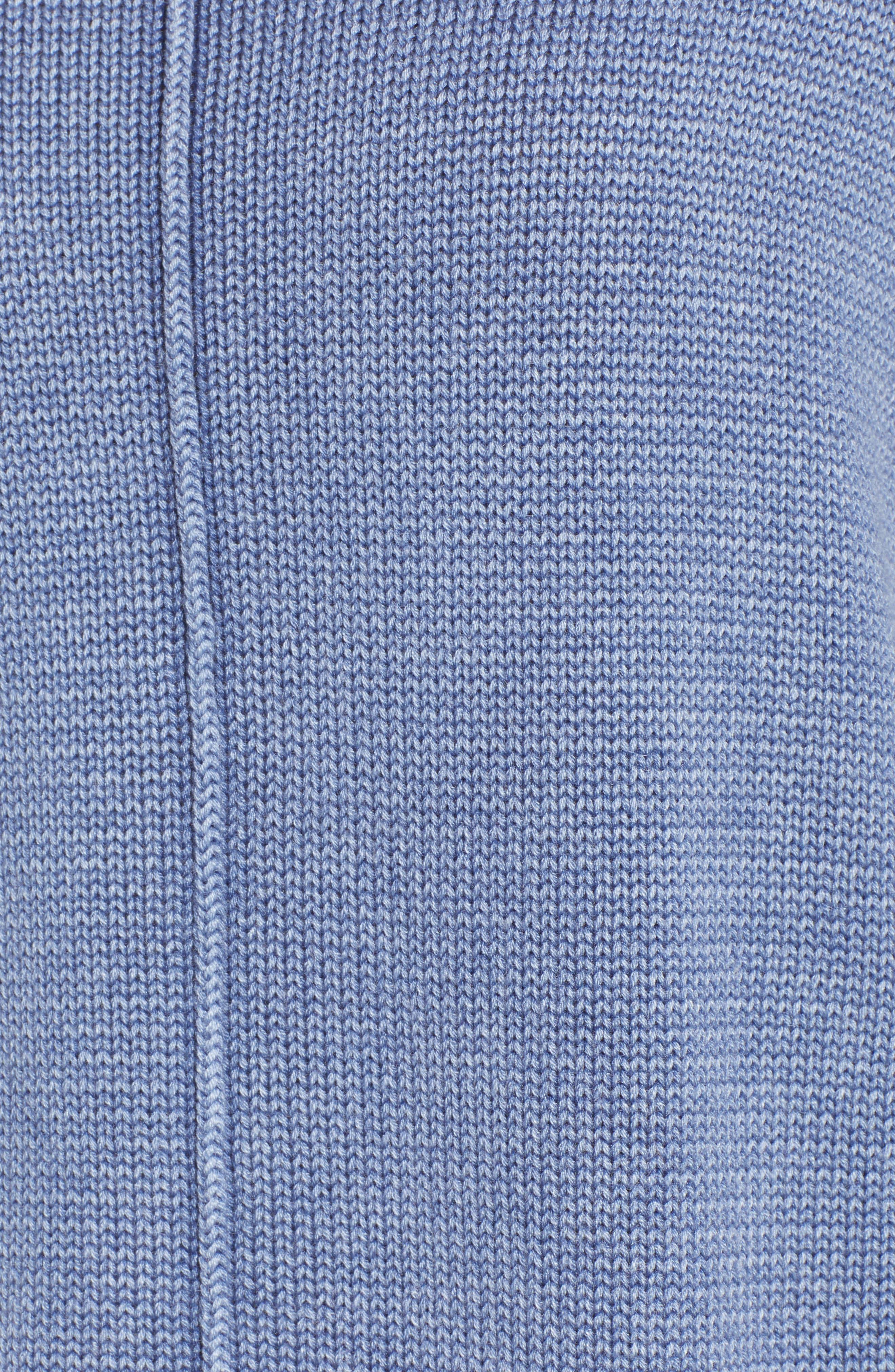 Erin Knit Sweater,                             Alternate thumbnail 6, color,                             Sand Washed Indigo