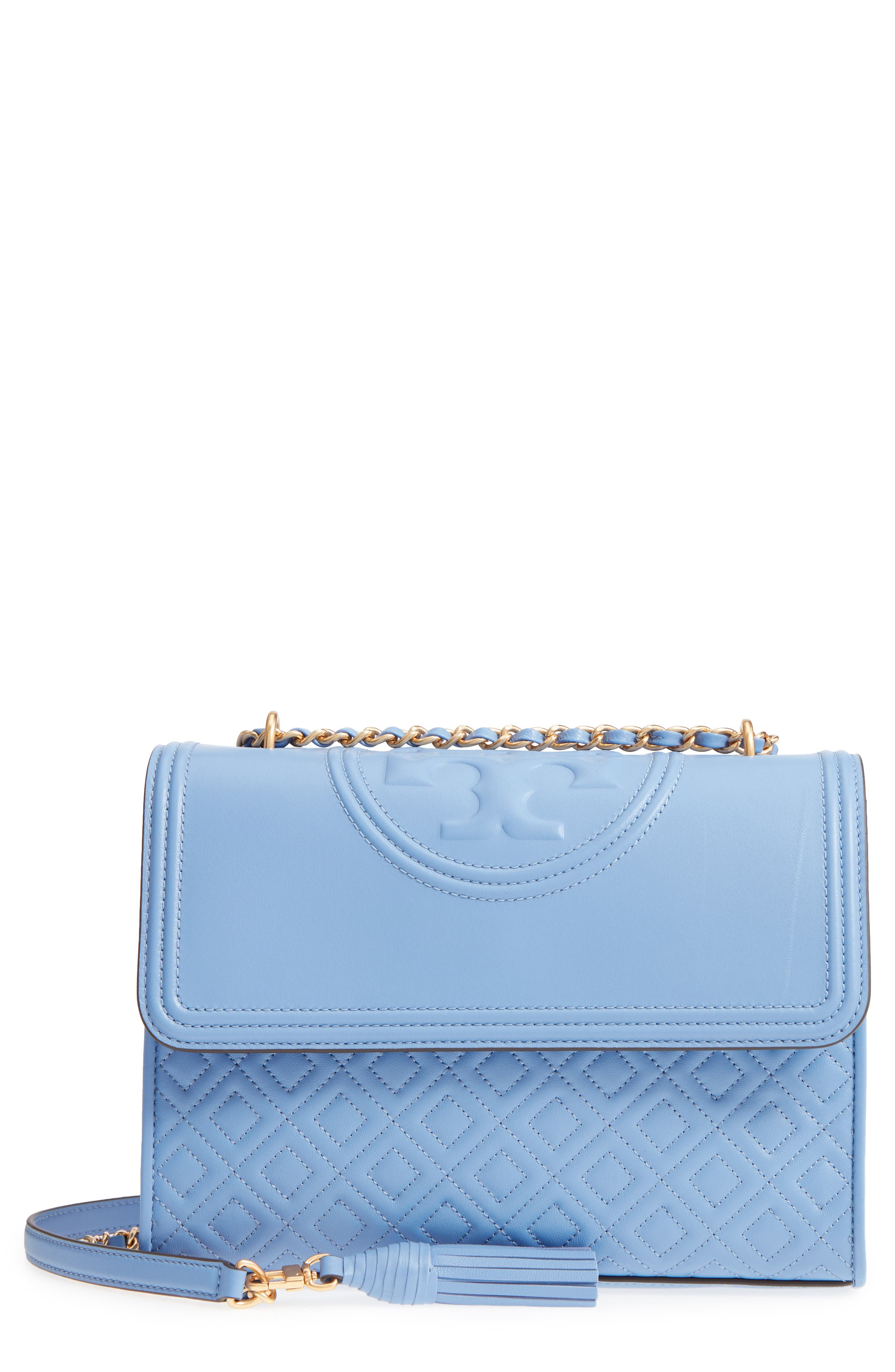 Alternate Image 1 Selected - Tory Burch Fleming Leather Convertible Shoulder Bag