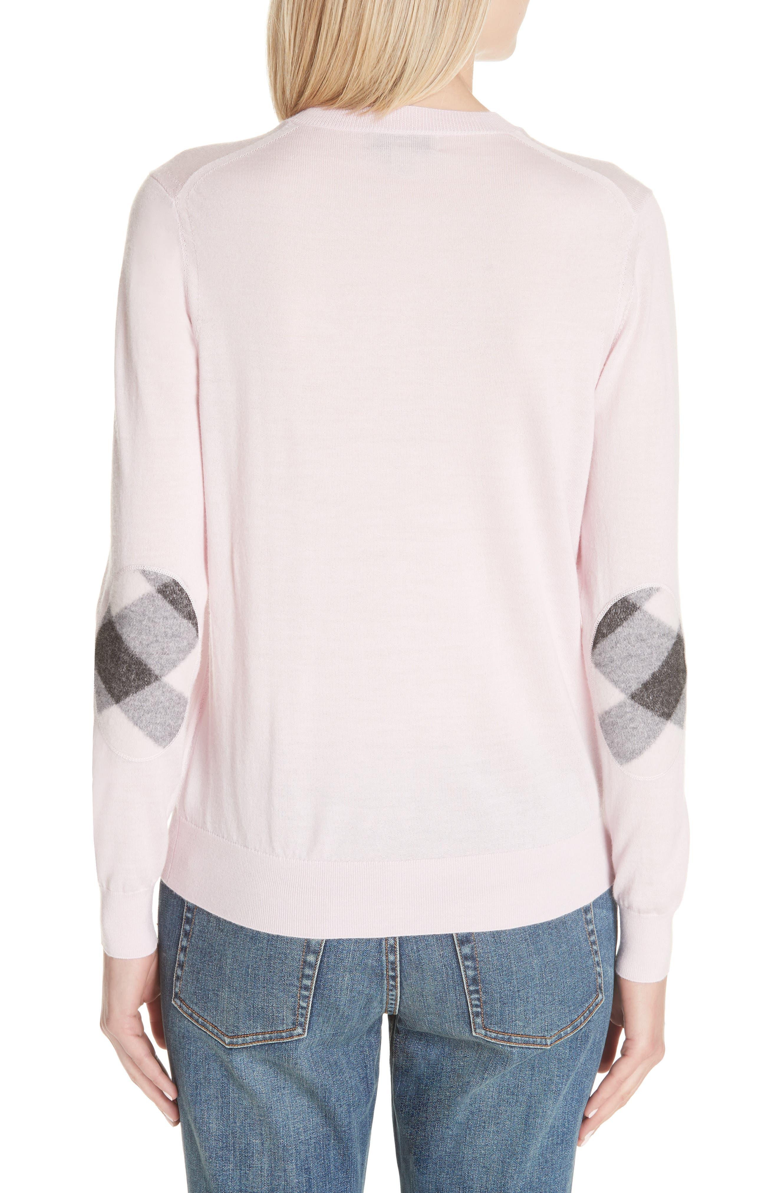 Viar Merino Wool Sweater,                             Alternate thumbnail 2, color,                             Light Pink