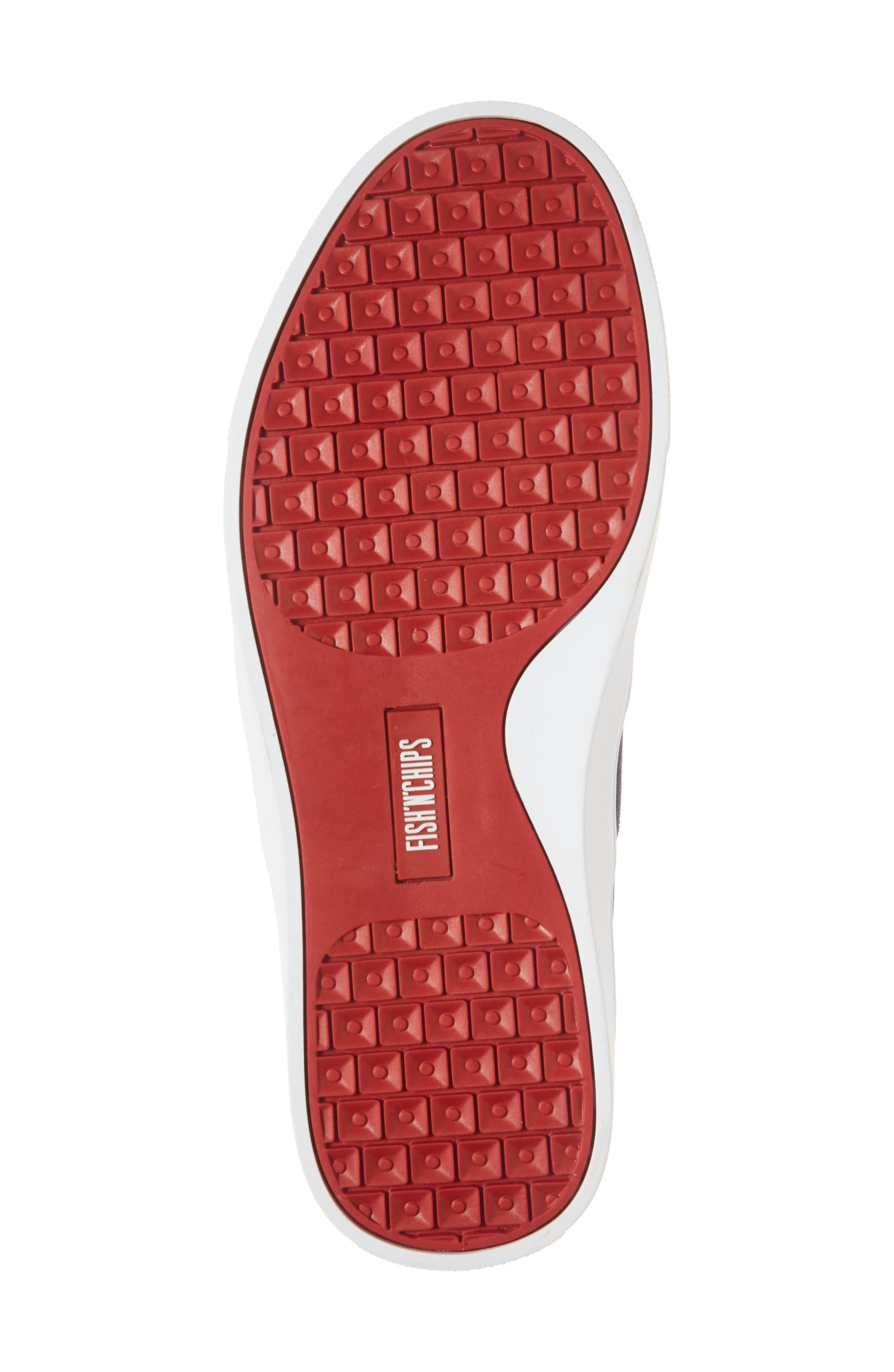 Fish 'N' Chips Bali Slip-On Sneaker,                             Alternate thumbnail 6, color,                             Navy Multi Fabric
